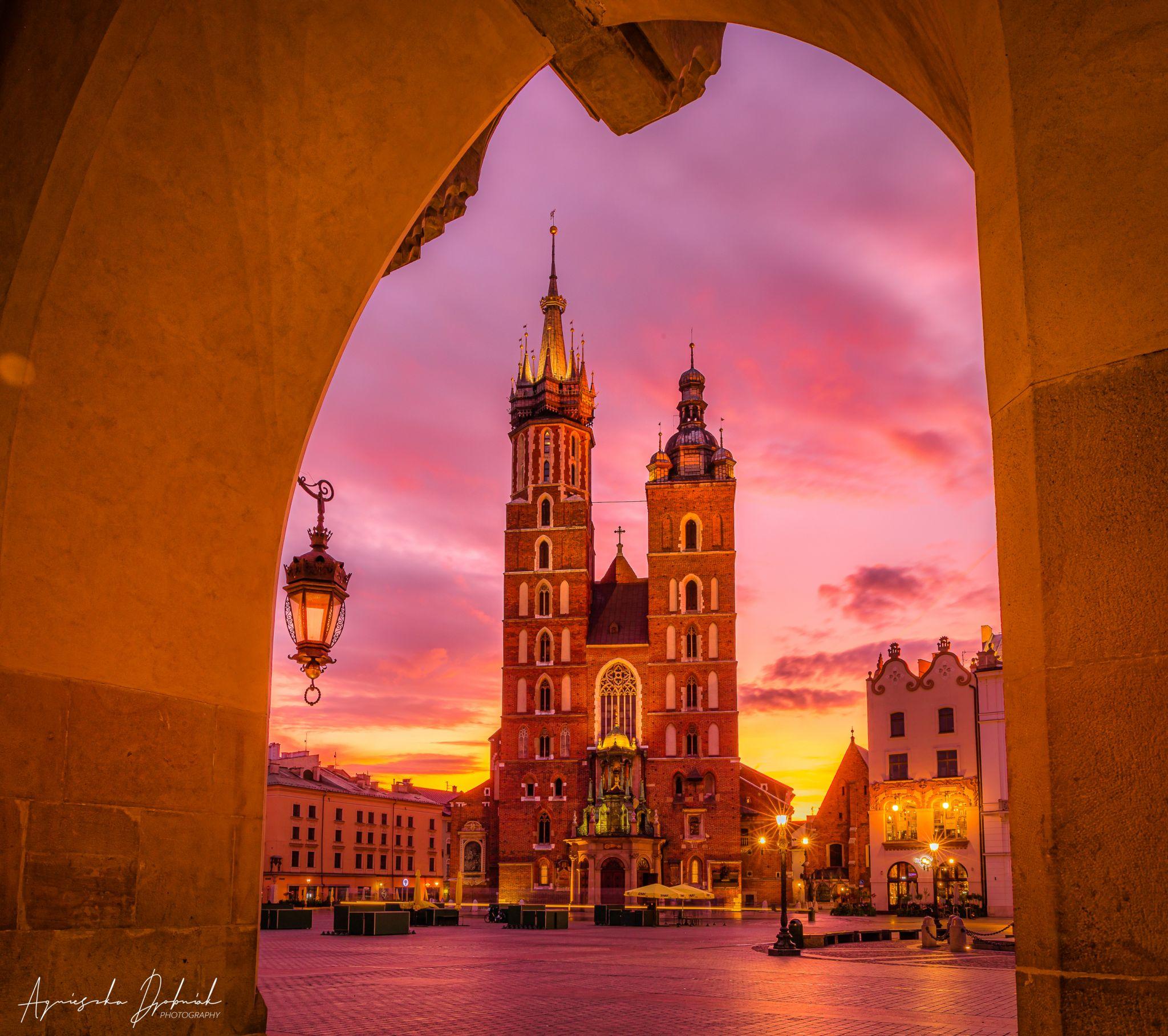Kraków Main Square, Poland