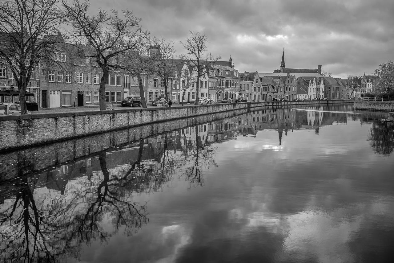 Langerei Canal, Brugge, Belgium, Belgium