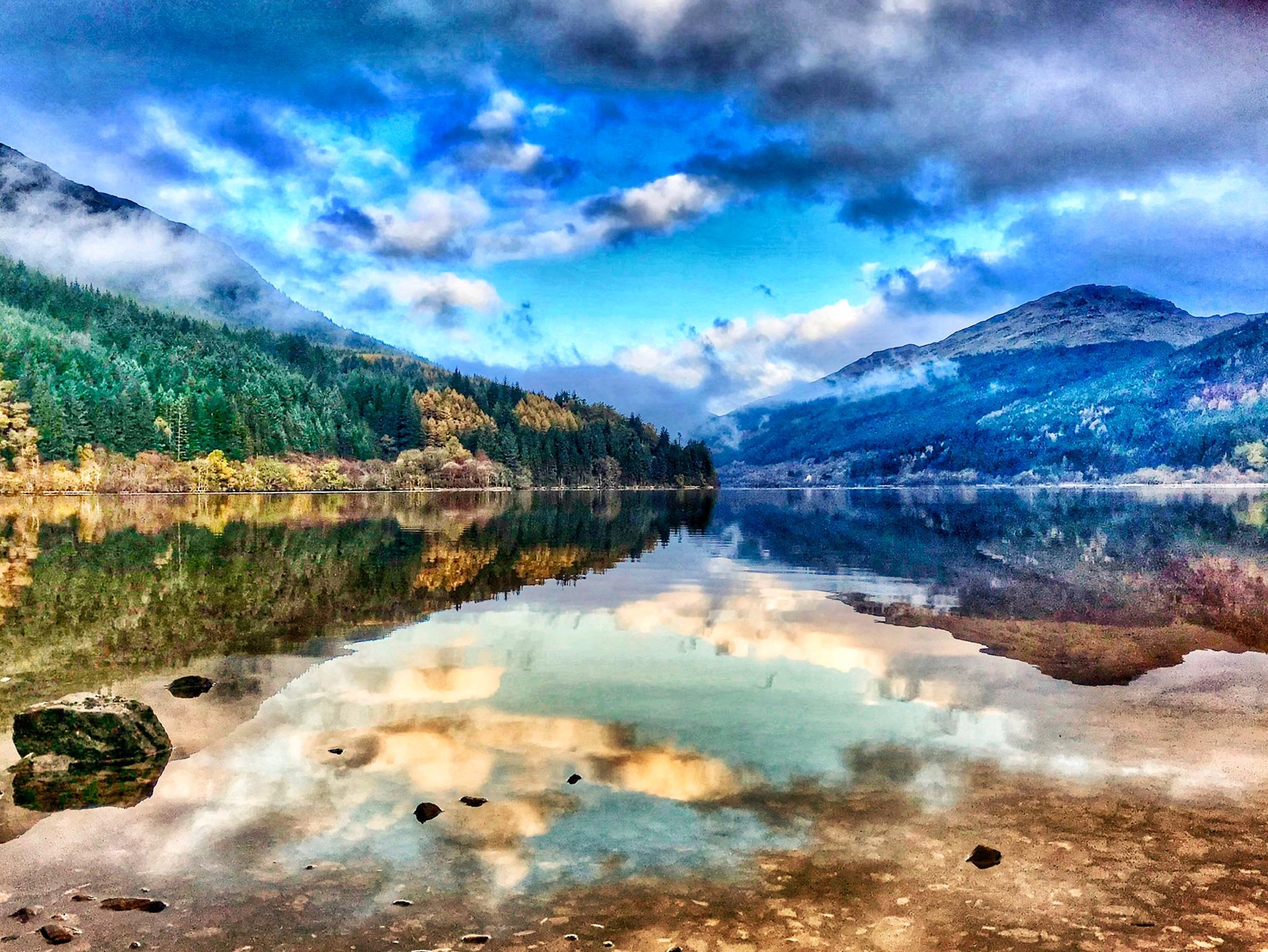 Loch Eck, Argyle Forest, Scotland, United Kingdom