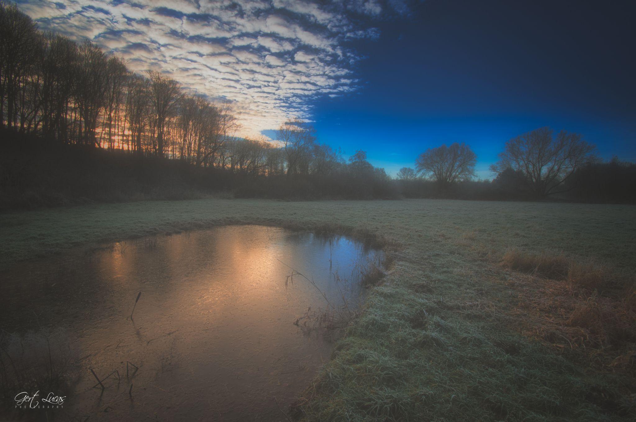 Malakoff - iced reflection, Belgium