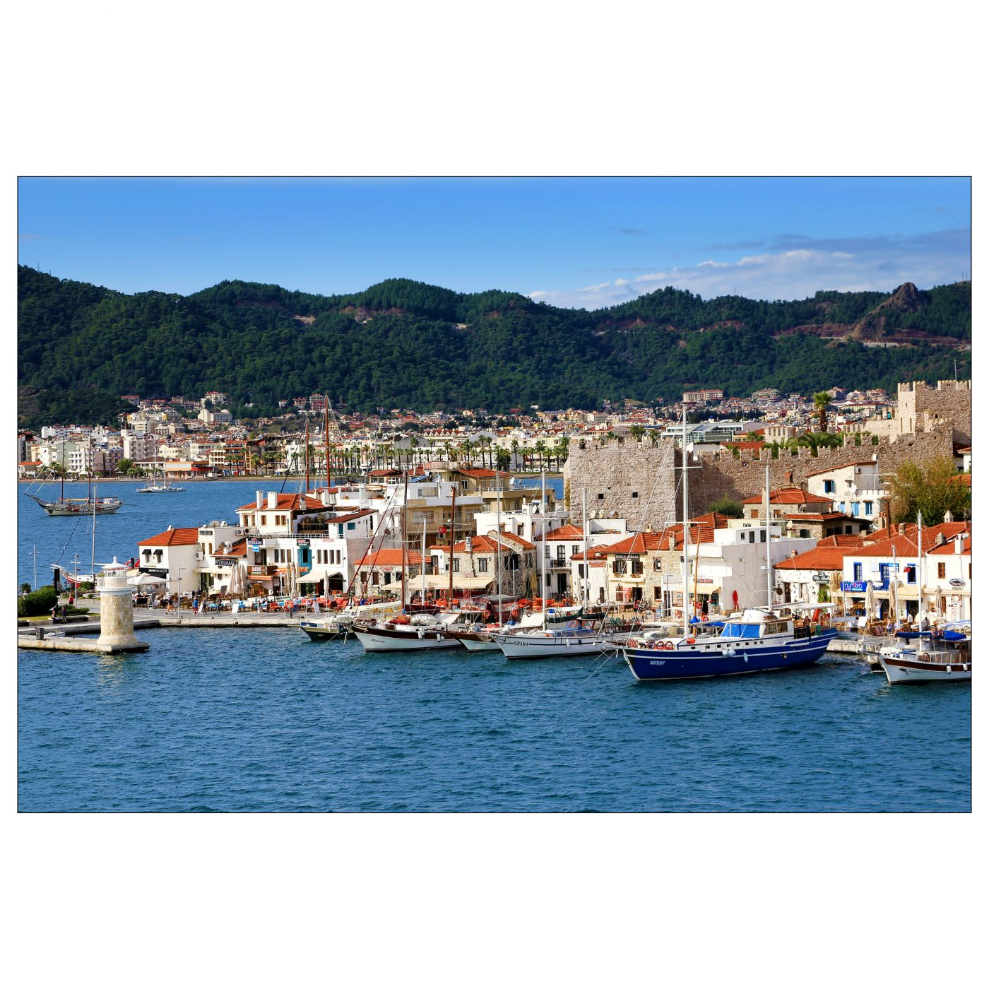 Marmaris Old Port, Turkey