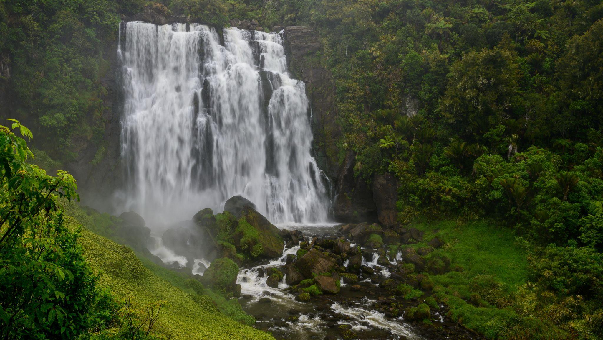 Marokoapa Falls, Waitomo, New Zealand