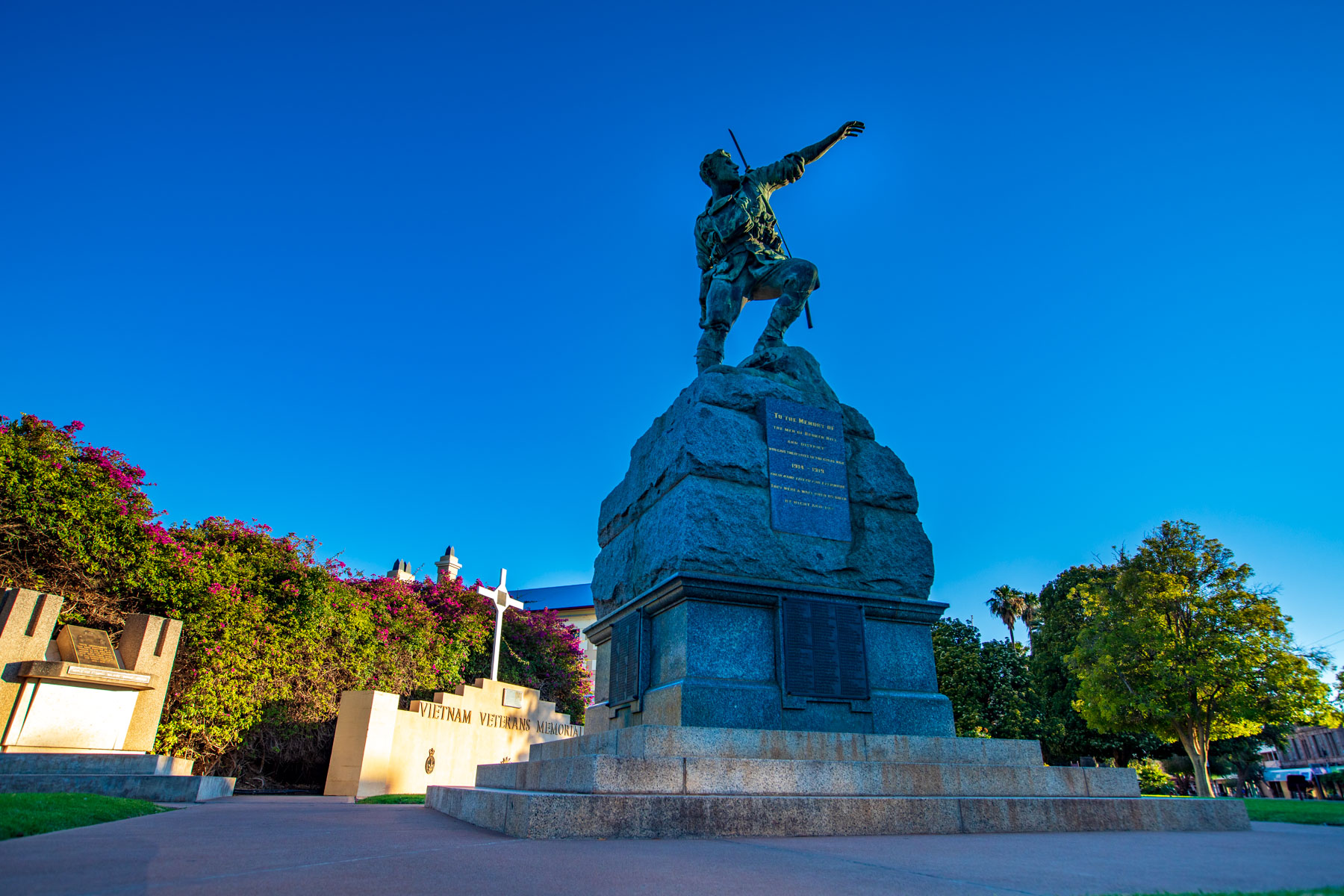 Memorial to Broken Hill soldiers Broken Hill NSW, Australia
