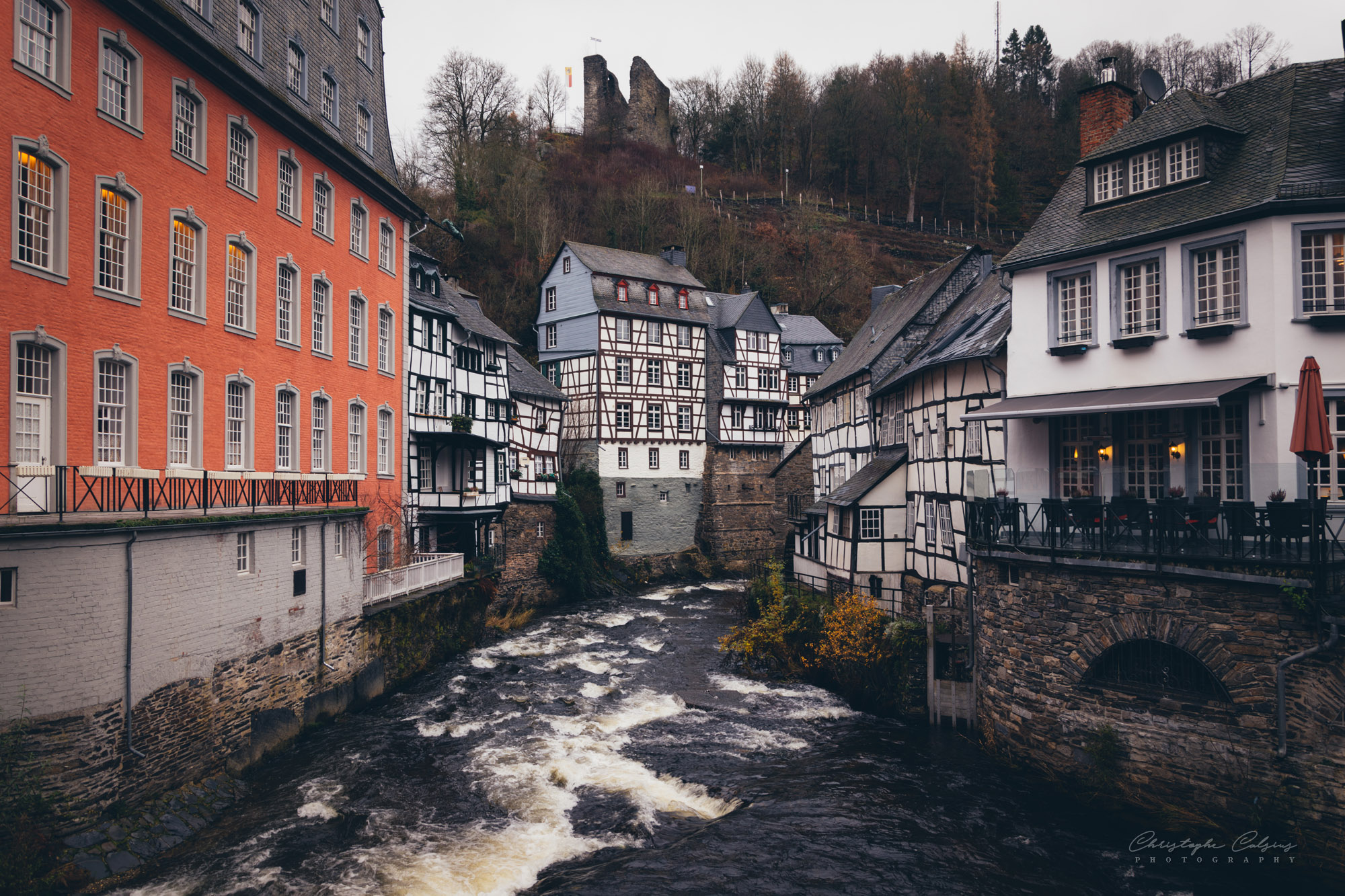 Monschau centre, Germany