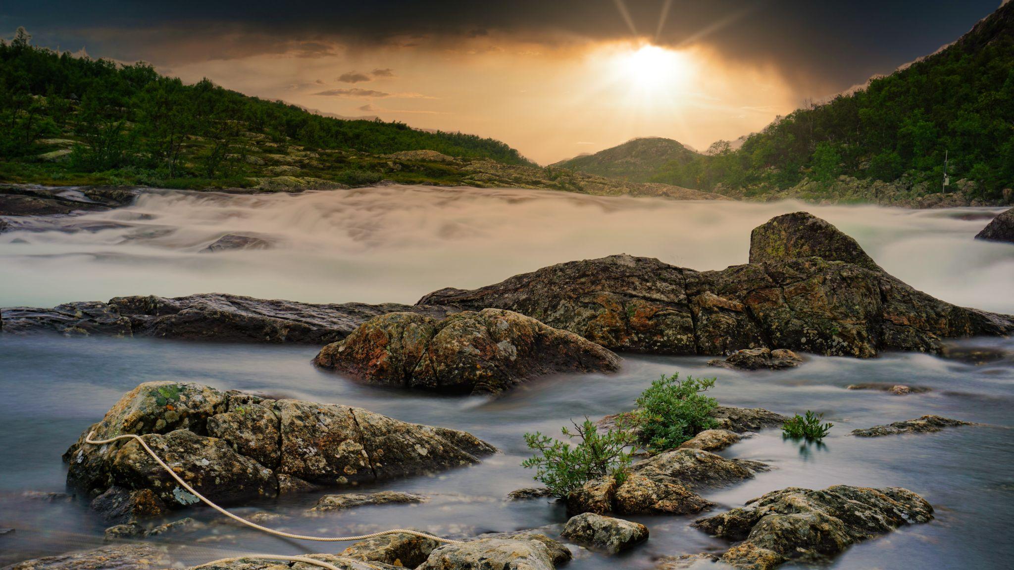 Møsvatnet, Norway