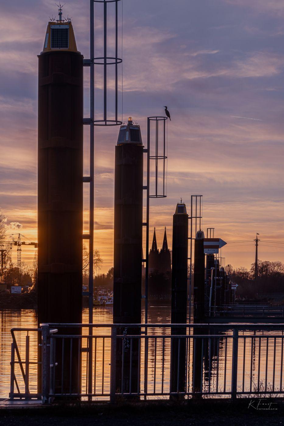 Mülheimer Hafen (harbour), Germany