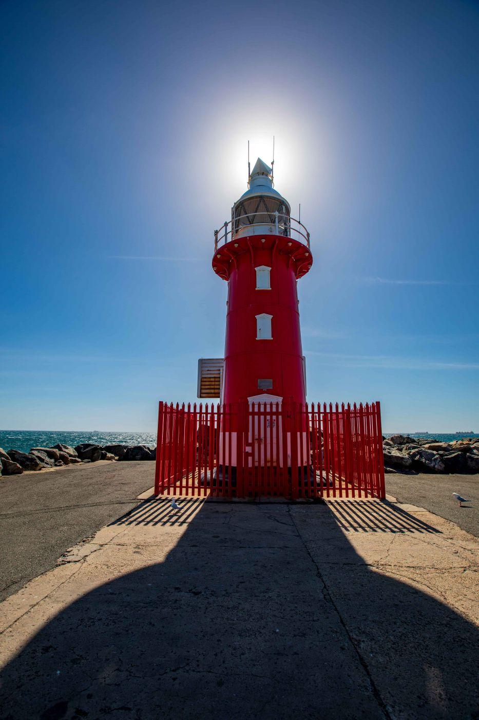 North Mole Lighthouse, Freemantle, Western Australia, Australia