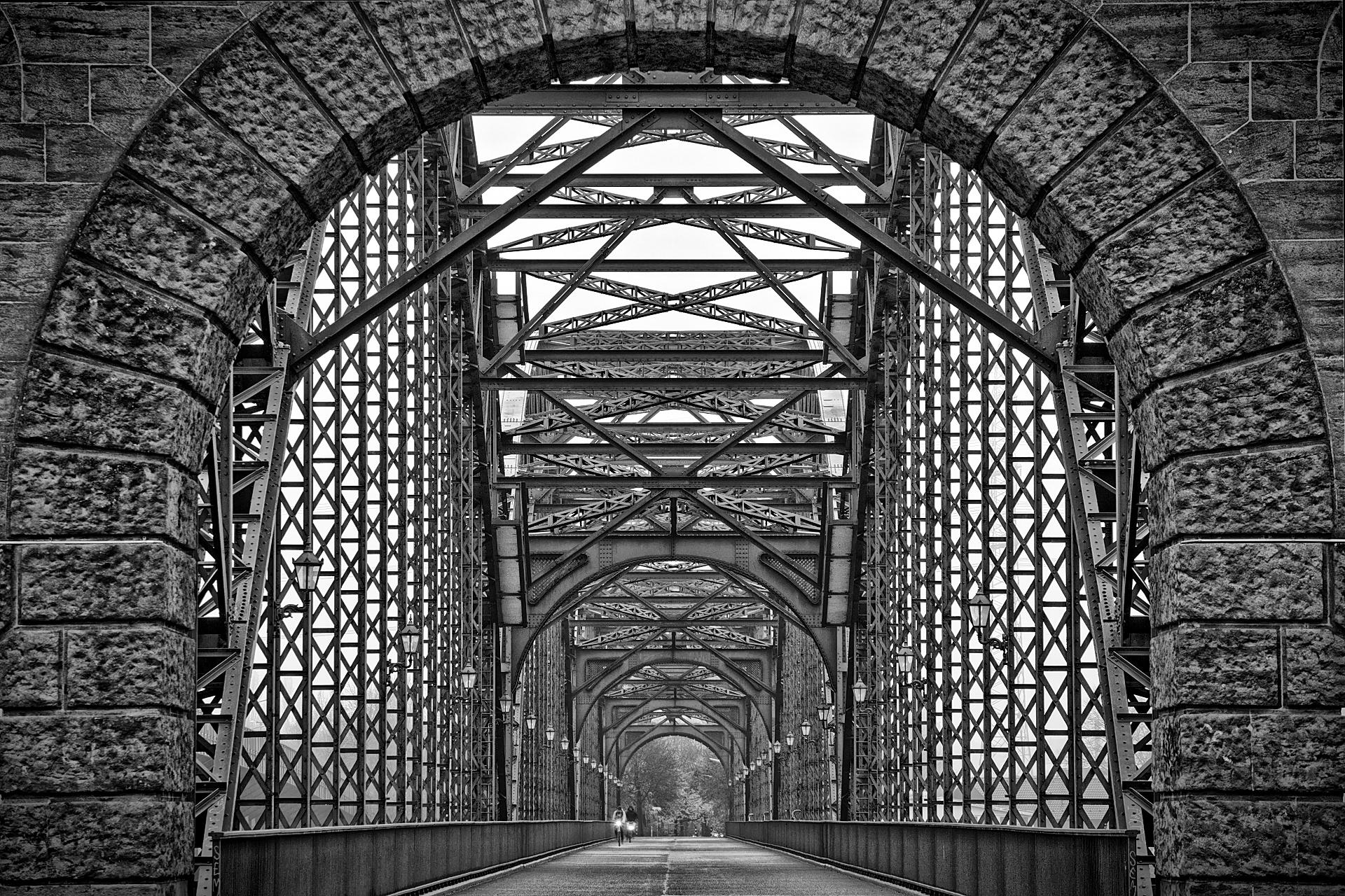 Old Harburger Bridge, Germany