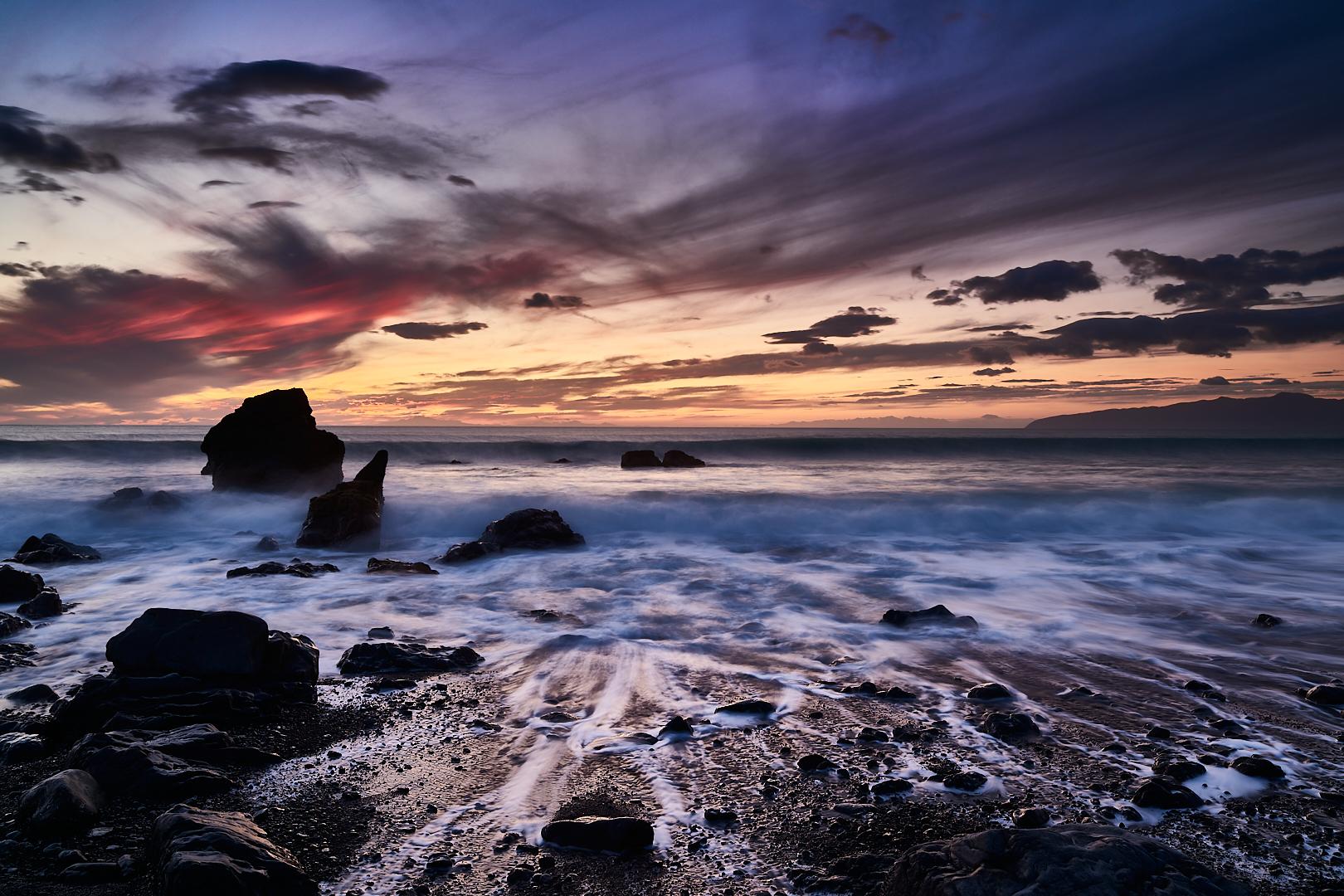Palliser Bay, Cook Strait, New Zealand