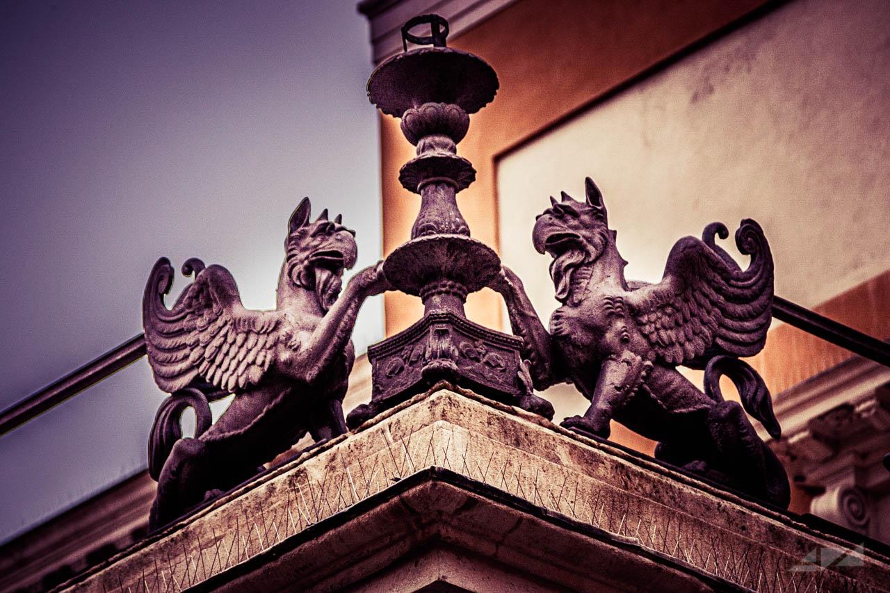 Pedrocchi's Griffins, Italy