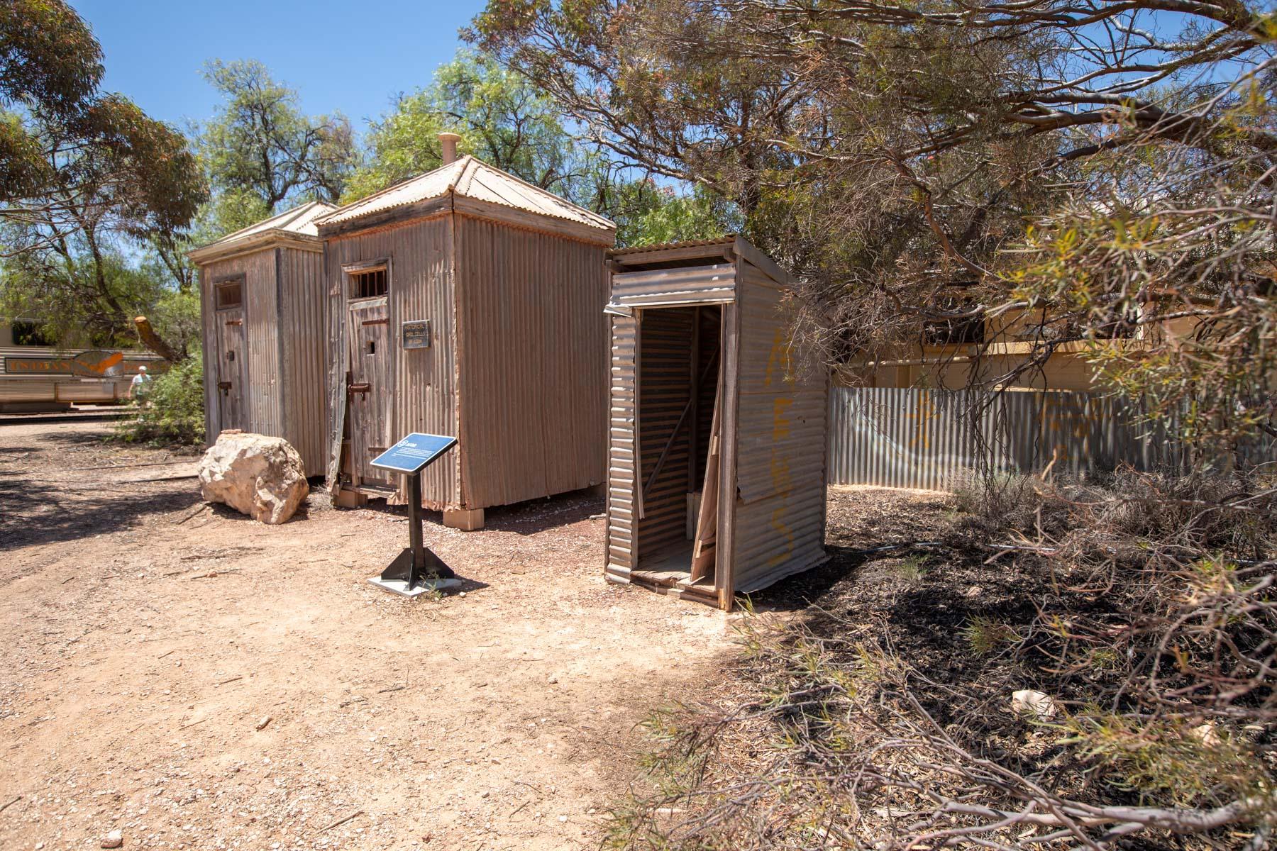 Police cells Cook Nallarbor, South Australia, Australia