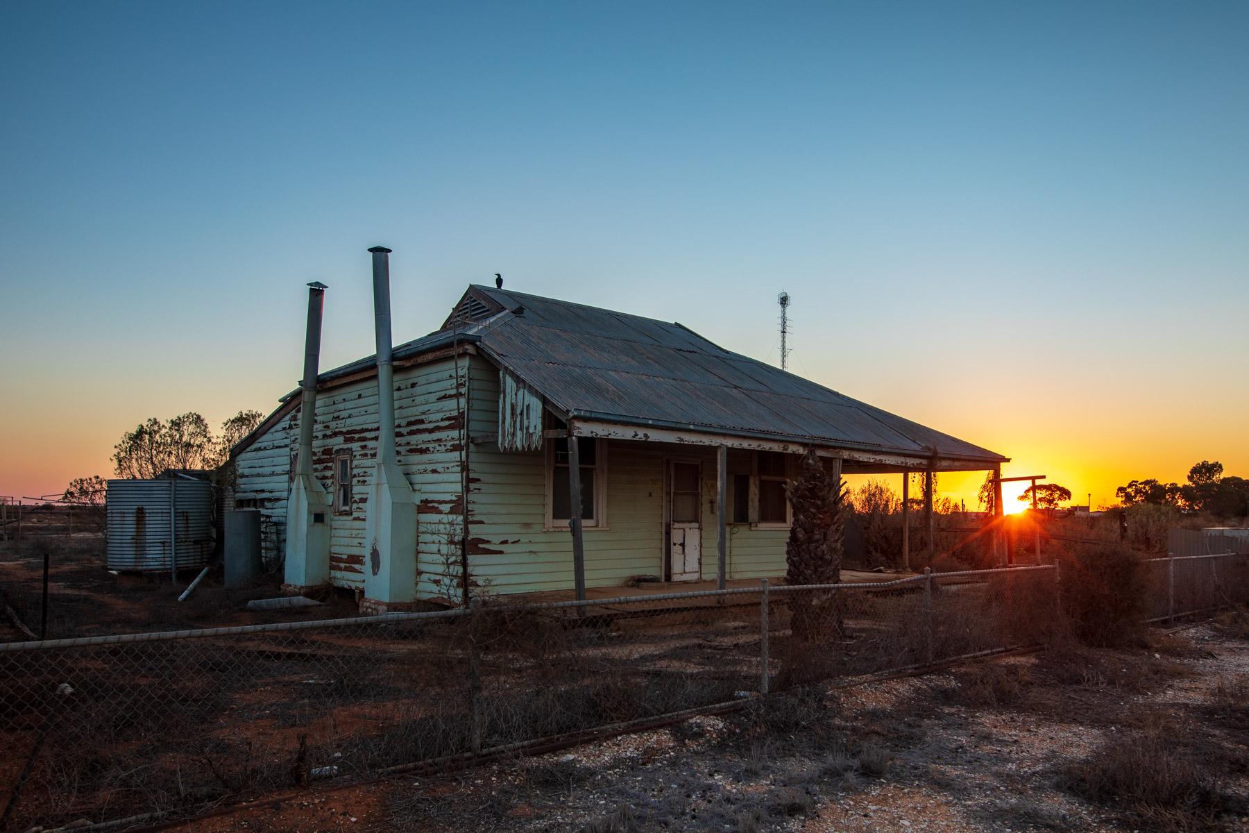 Rawlinna on the Indian Pacific homestead Western Australia, Australia