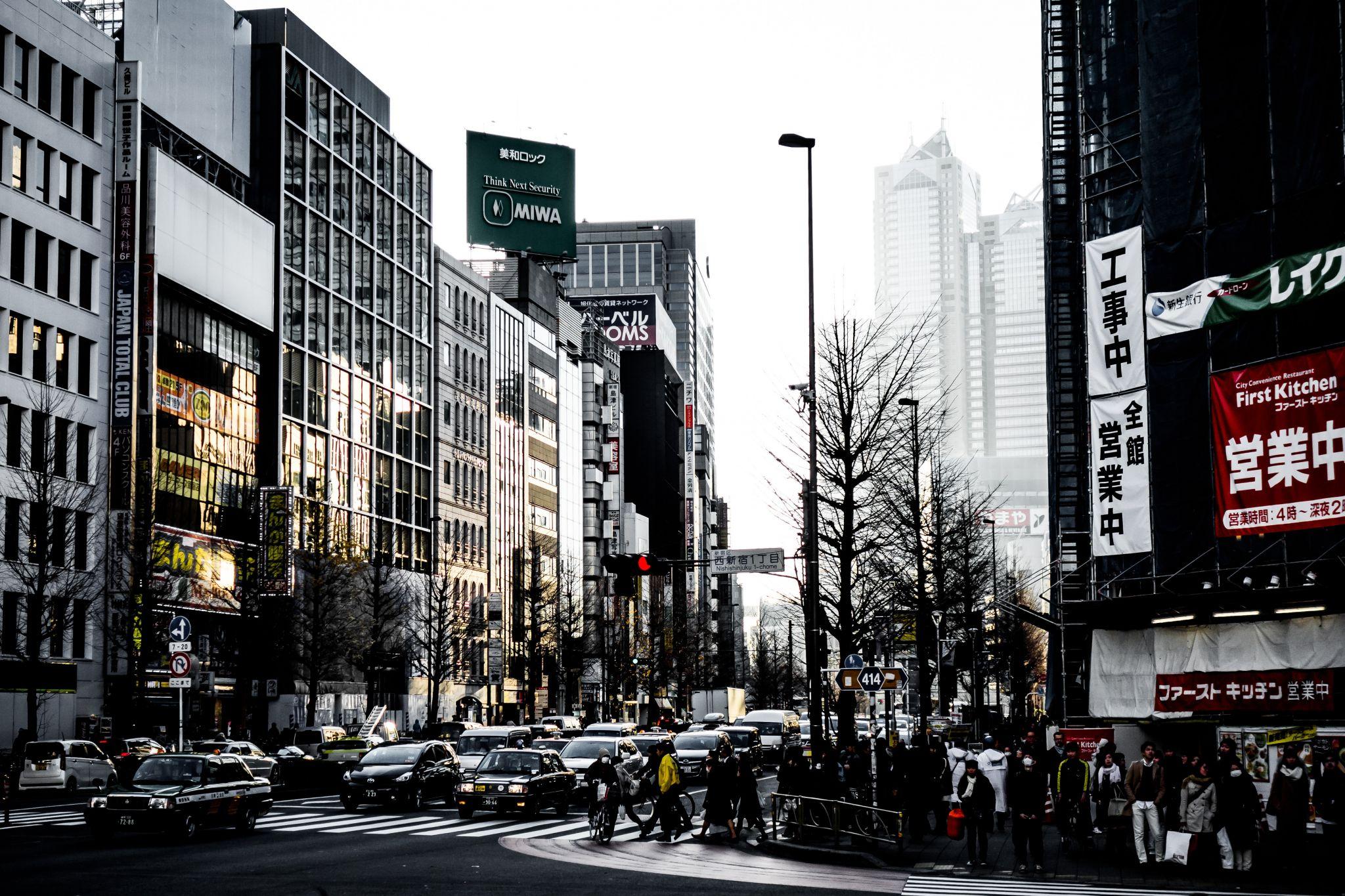 Shinjuku Streets, Japan