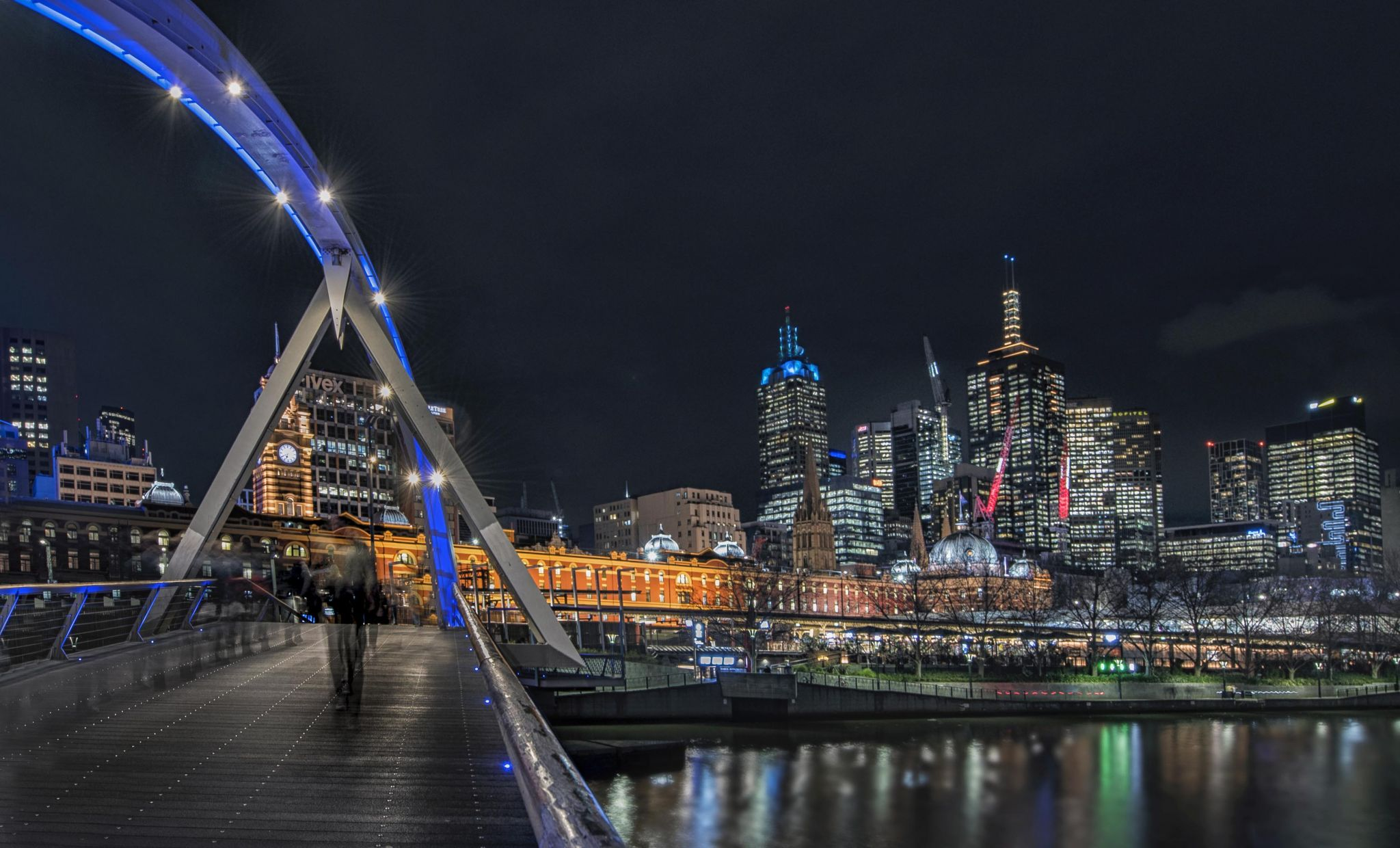 Southbank Promenade Melbourne, Australia