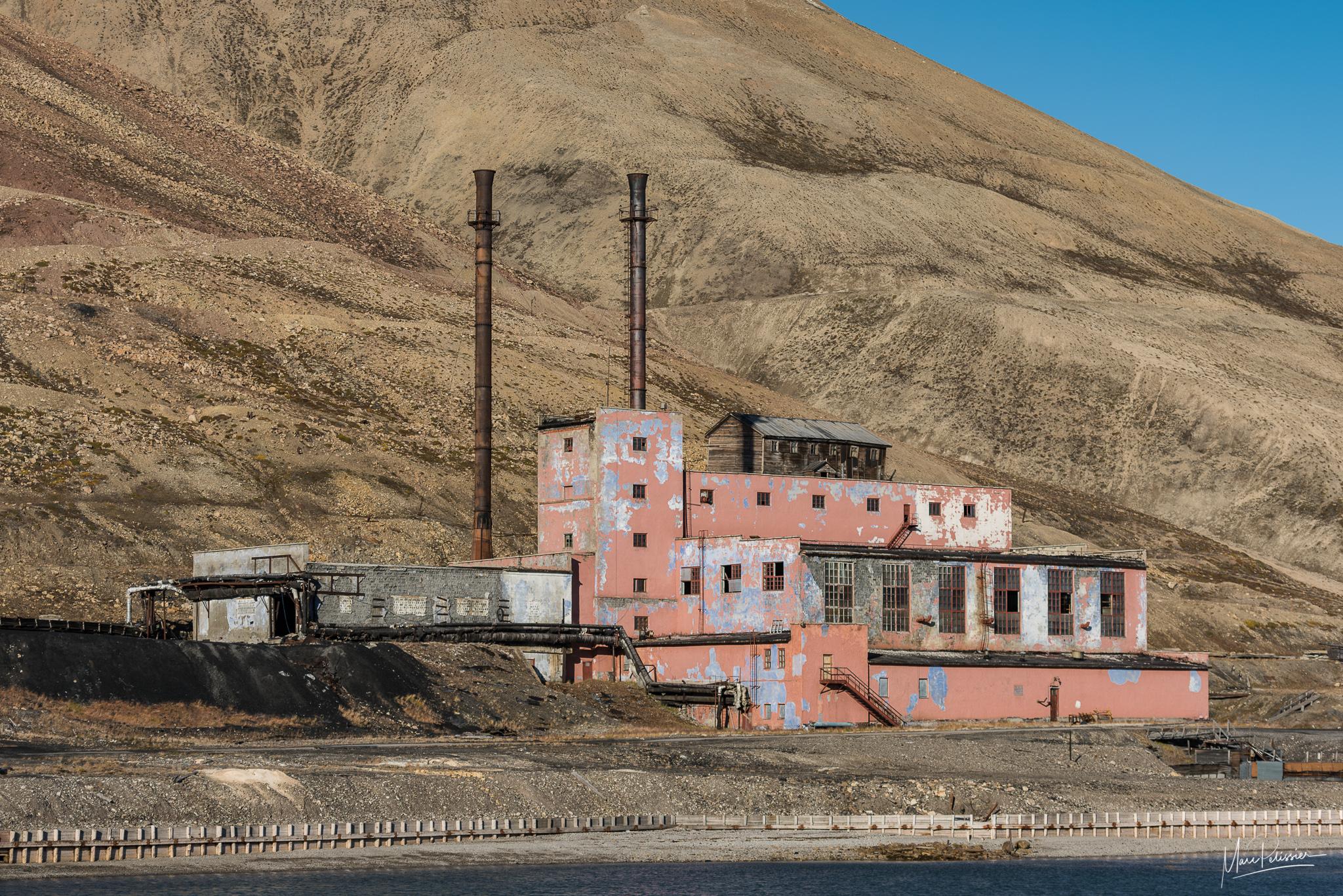 The abandoned factory of Pyramiden, Svalbard & Jan Mayen Islands