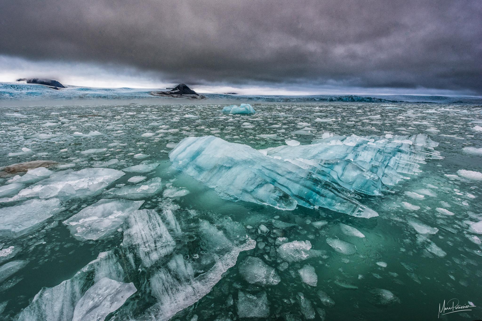 The ice hand, Svalbard & Jan Mayen Islands