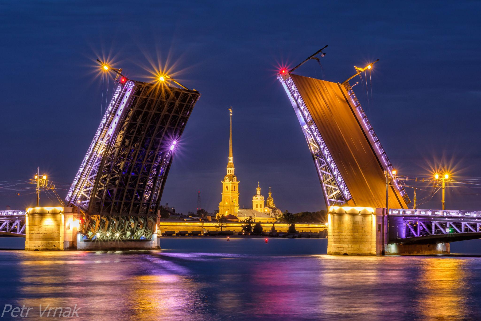 The Palace Bridge, Russian Federation