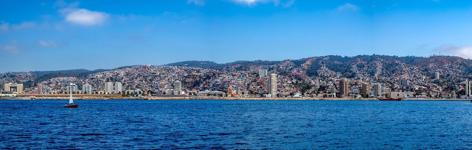 Valparaiso Bay, Chile