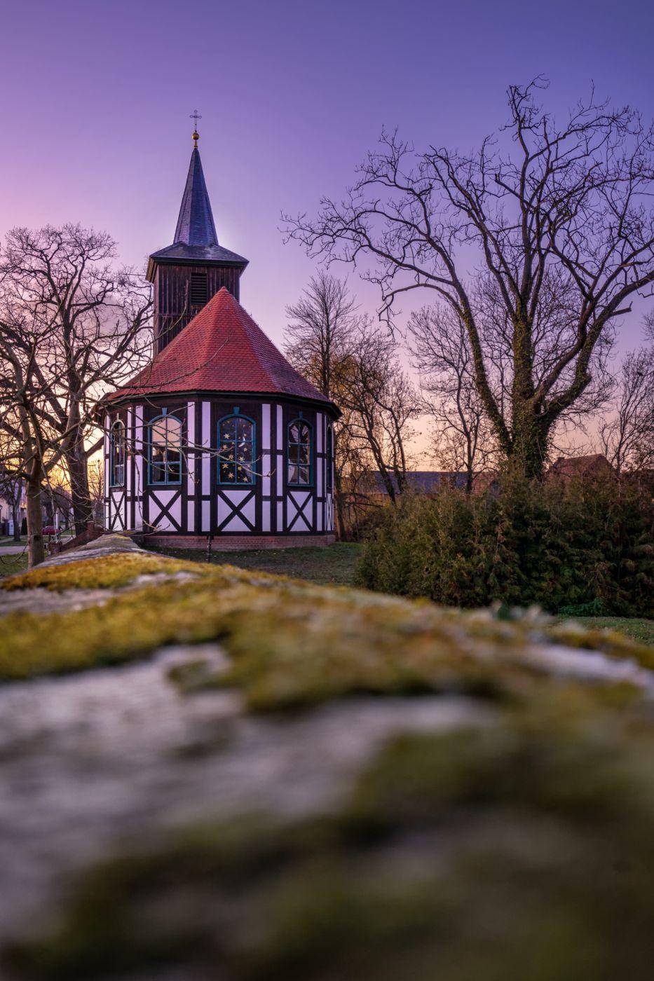 Village Church Altlüdersdorf, Germany