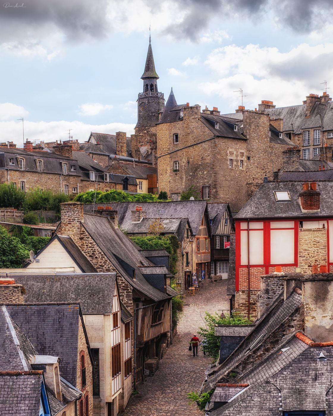 Wall of Dinan, France