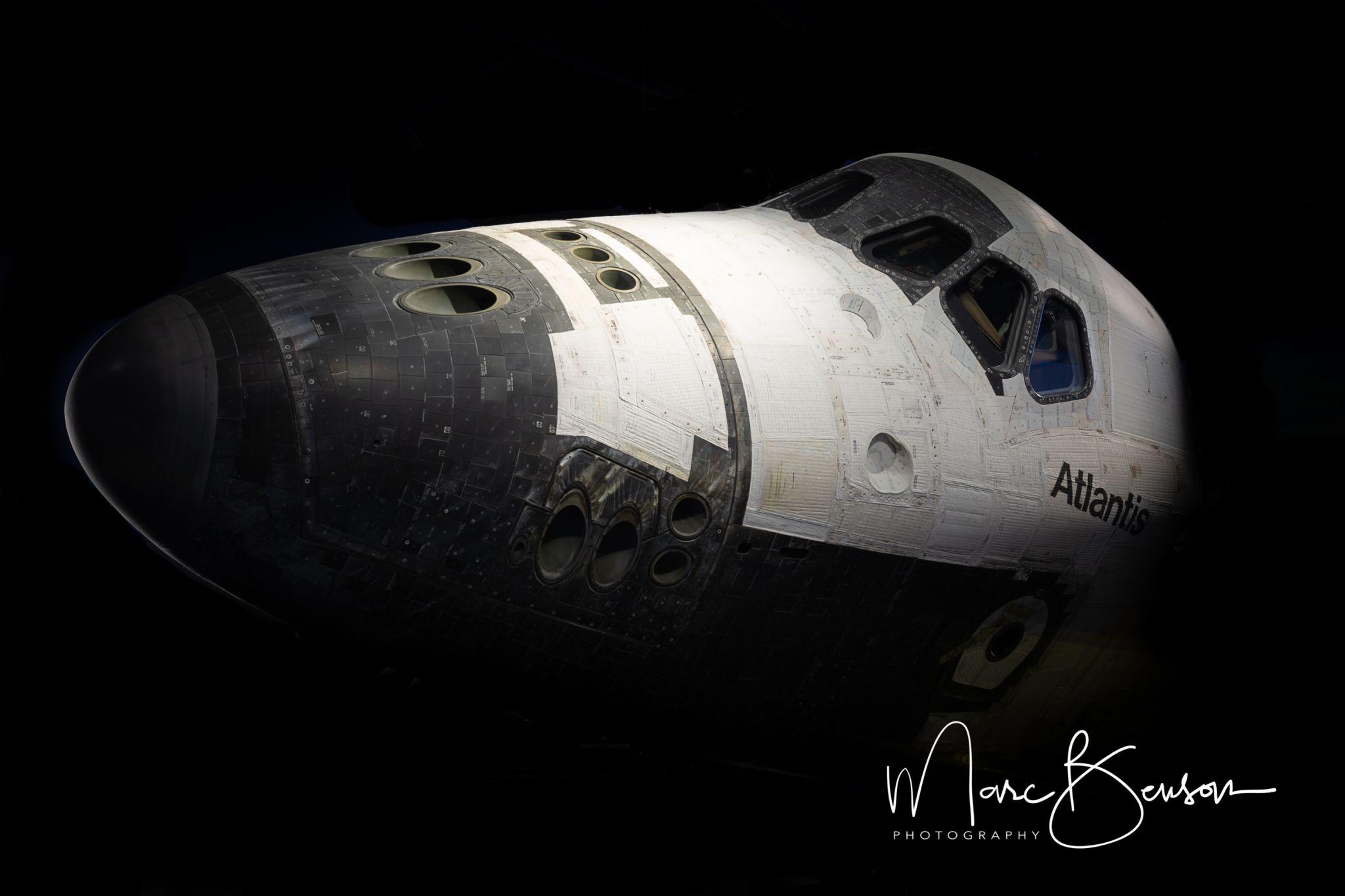 Atlantis exhibit at Kennedy Space Center, USA