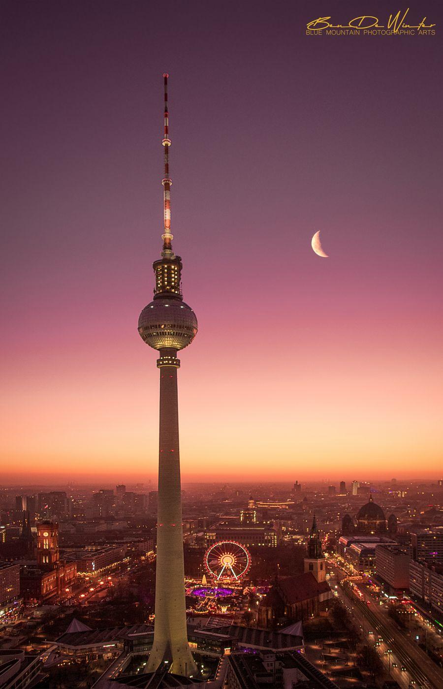 Berlin Fernsehturm, Germany