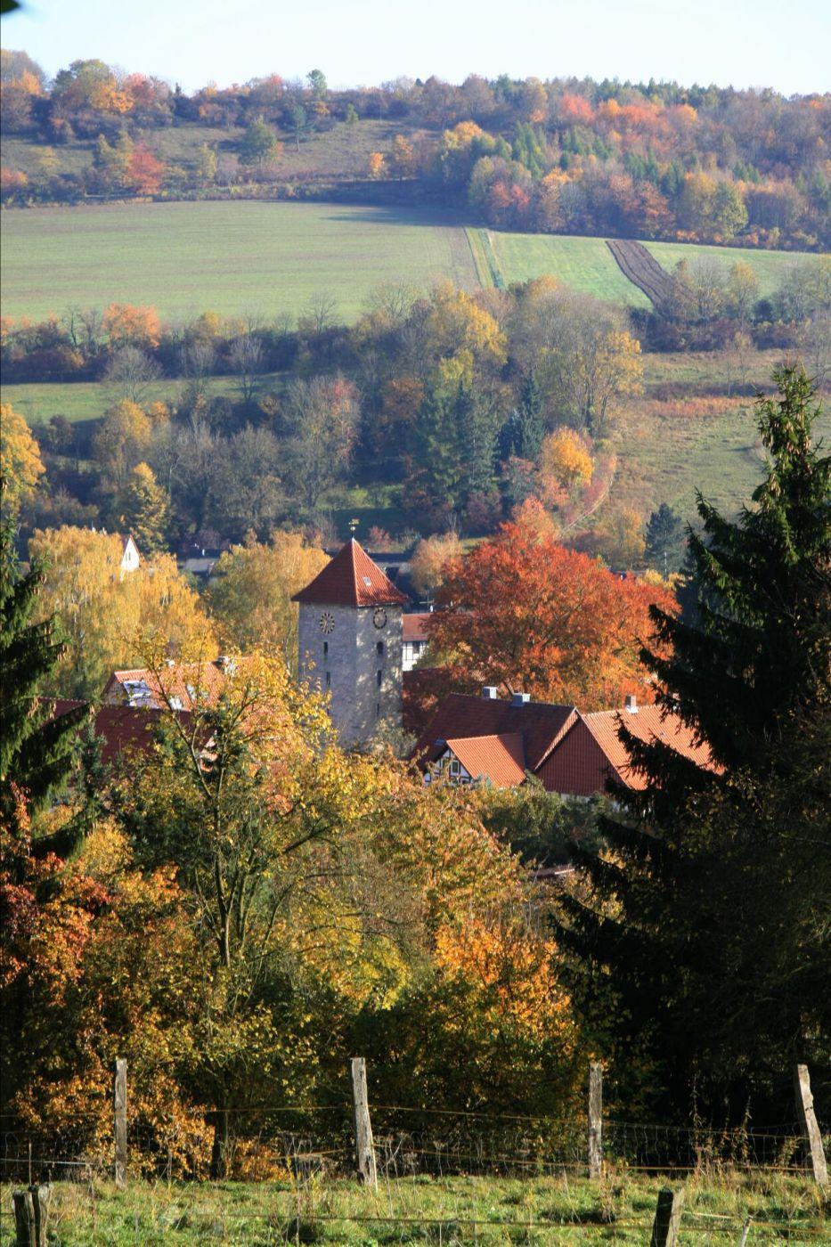 Blick auf Herberhausen, Germany