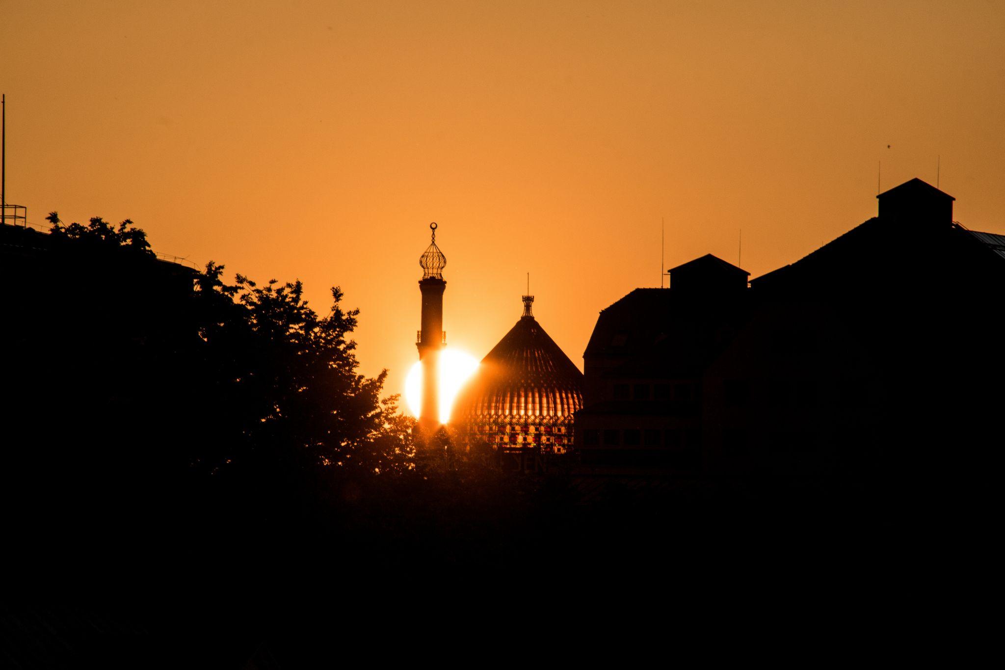 Blick auf Yenidze, Germany