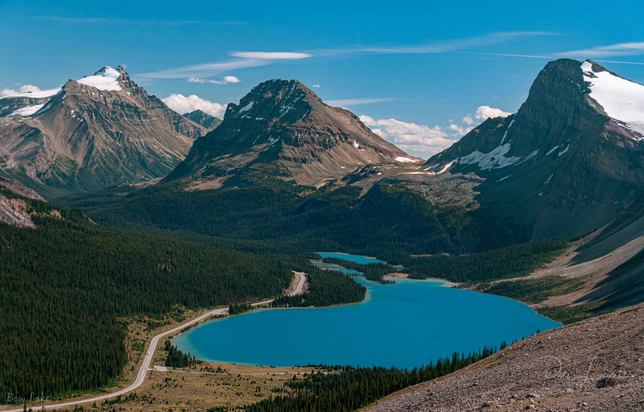 Bow Summit Trail, Canada
