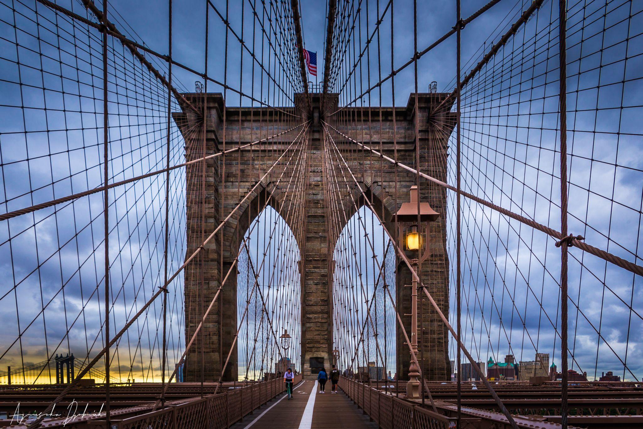 Brooklyn Bridge, NY City, USA