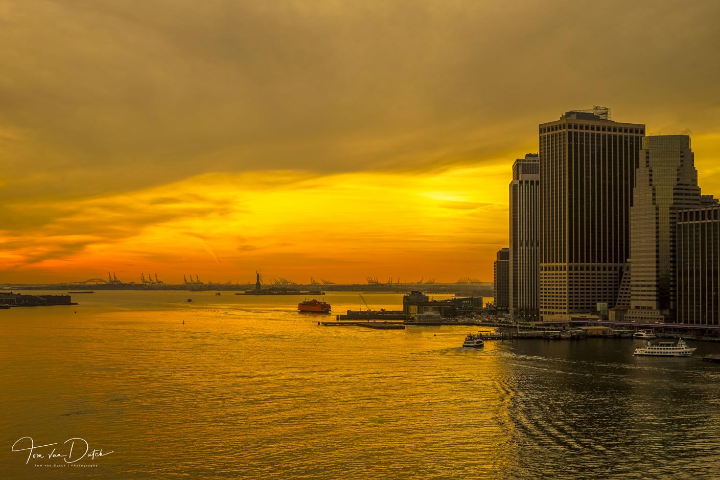 Brooklyn Bridge View, USA