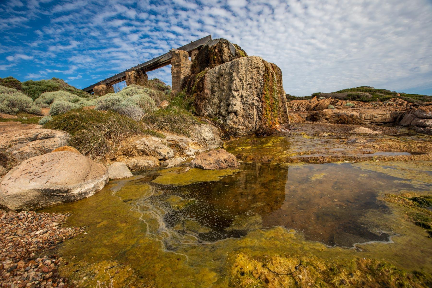 Cape Leeuwin Water Wheel, Western Australia, Australia