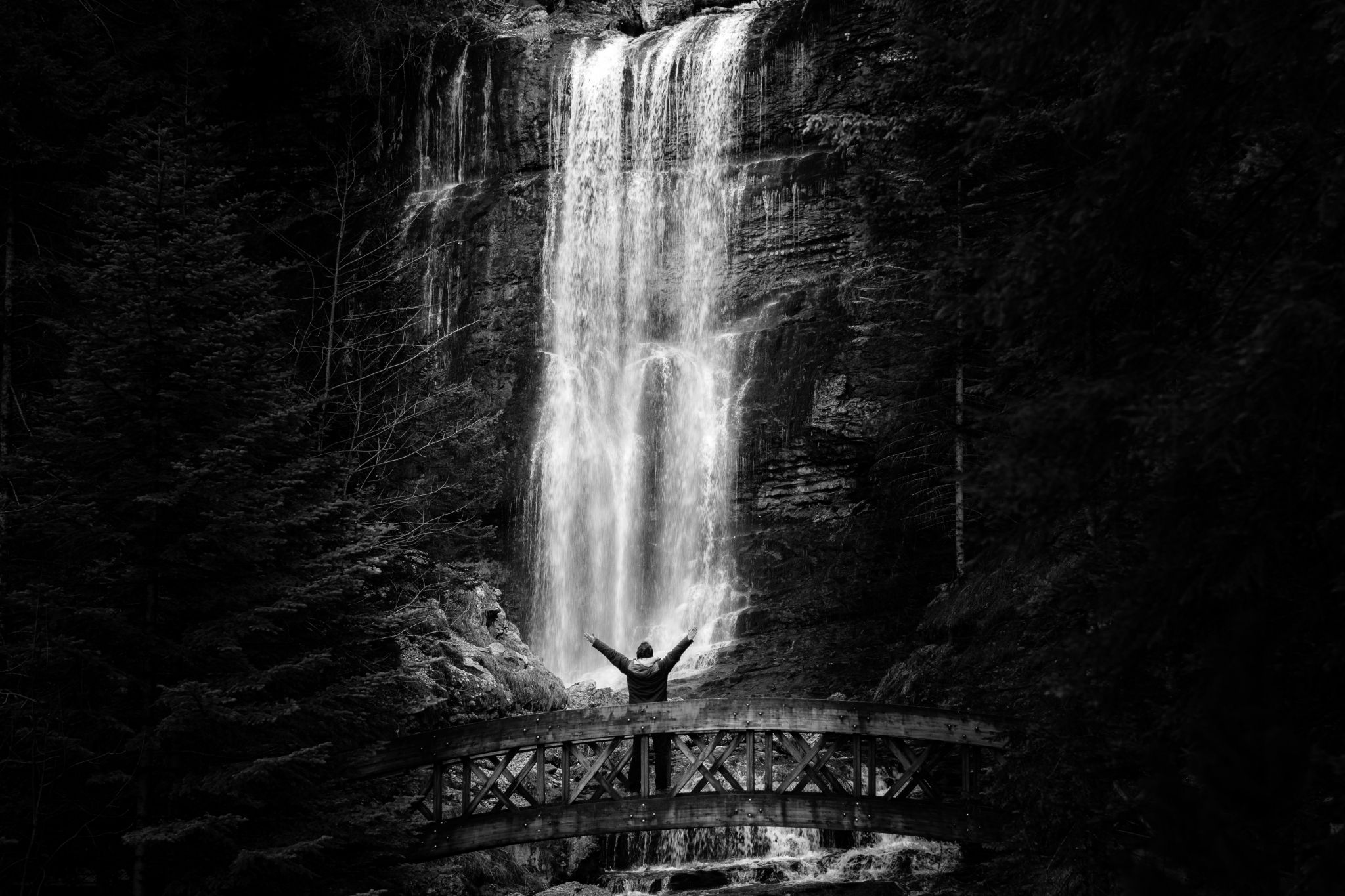 Cascade du Cirque de Saint-Meme, France