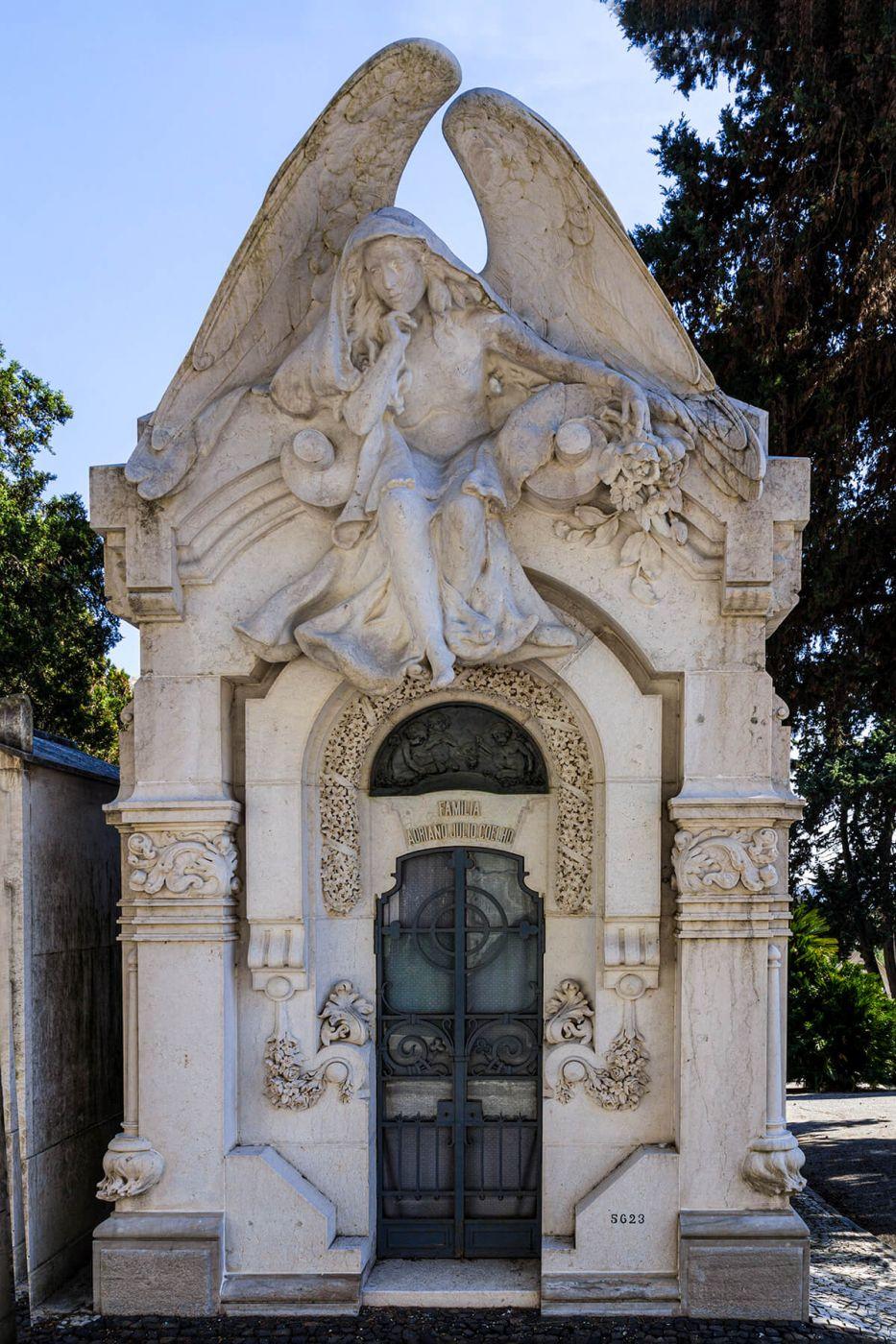 Cemitério dos Prazeres, Portugal