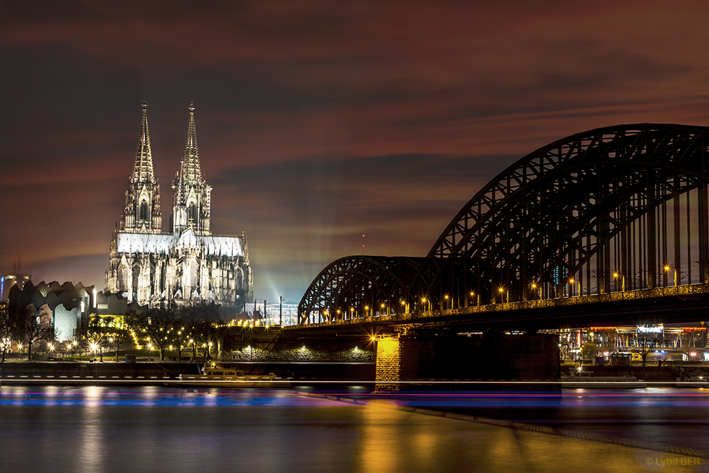 Cologne Cathedral & Hohenzollern Bridge, Germany