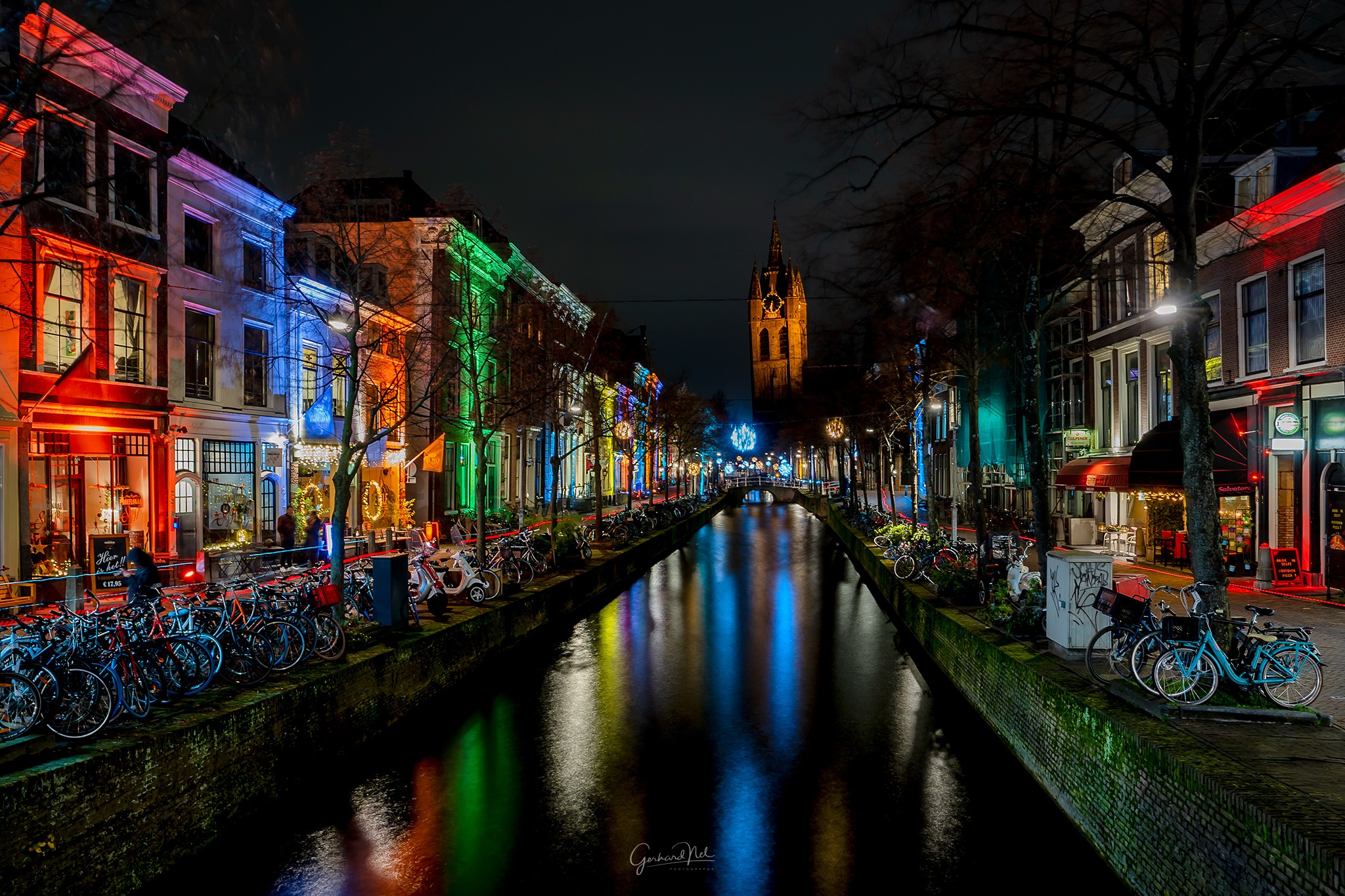 Delft light festival, Netherlands