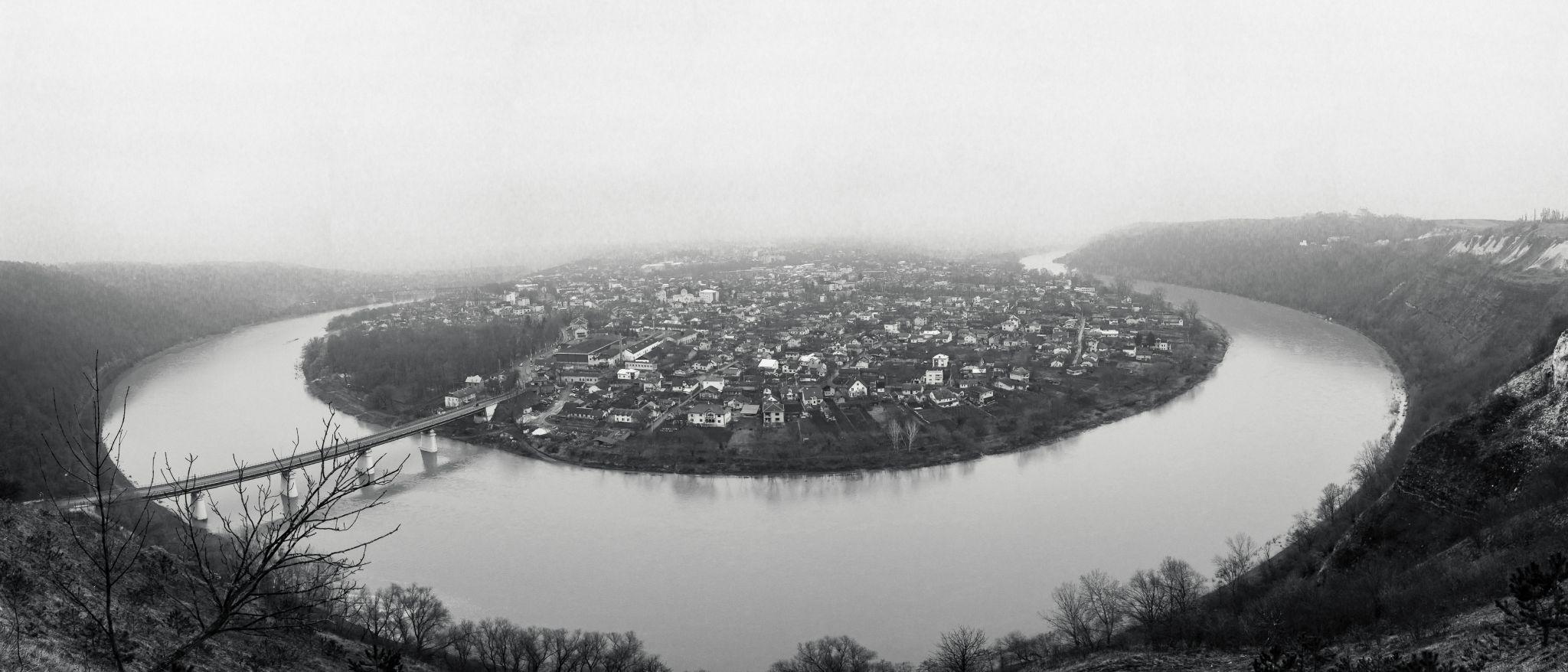 Dnister river bend, Zalishchyky, Ukraine, Ukraine