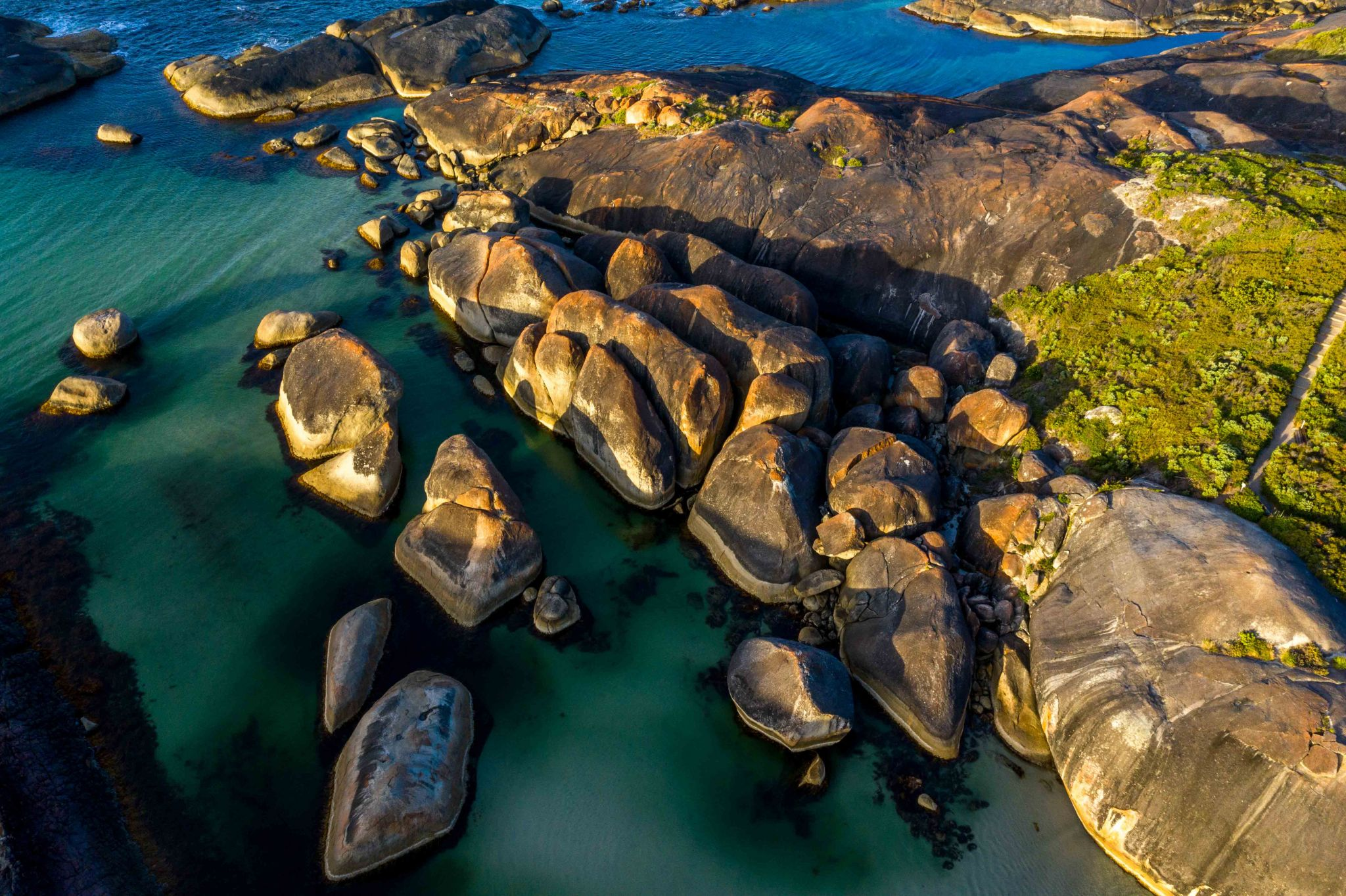 Elephant Rocks Sunrise Denmark, Western Australia, Australia