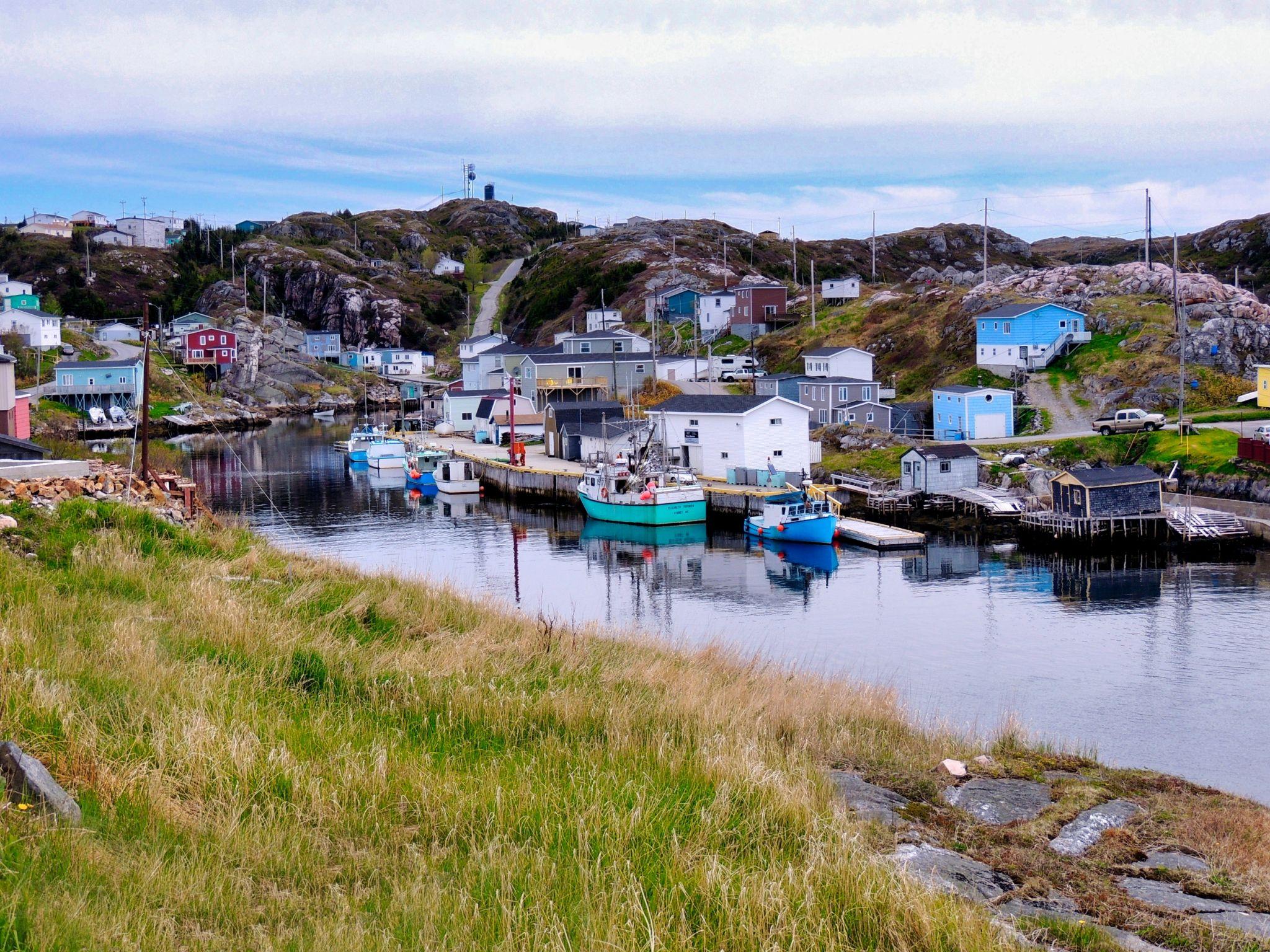Fishing Village, Canada