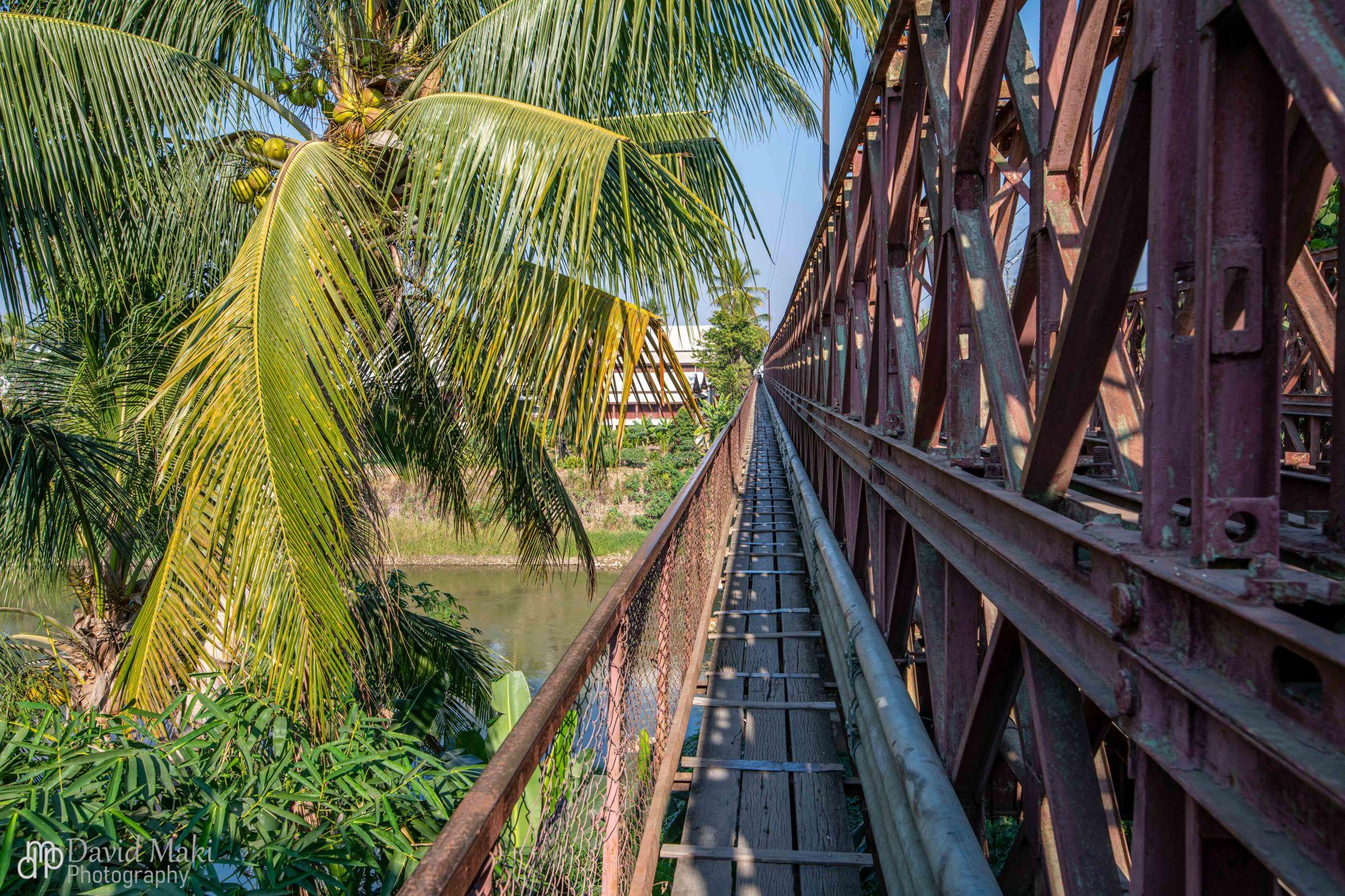 French Bridge in Luang Prabang, Lao