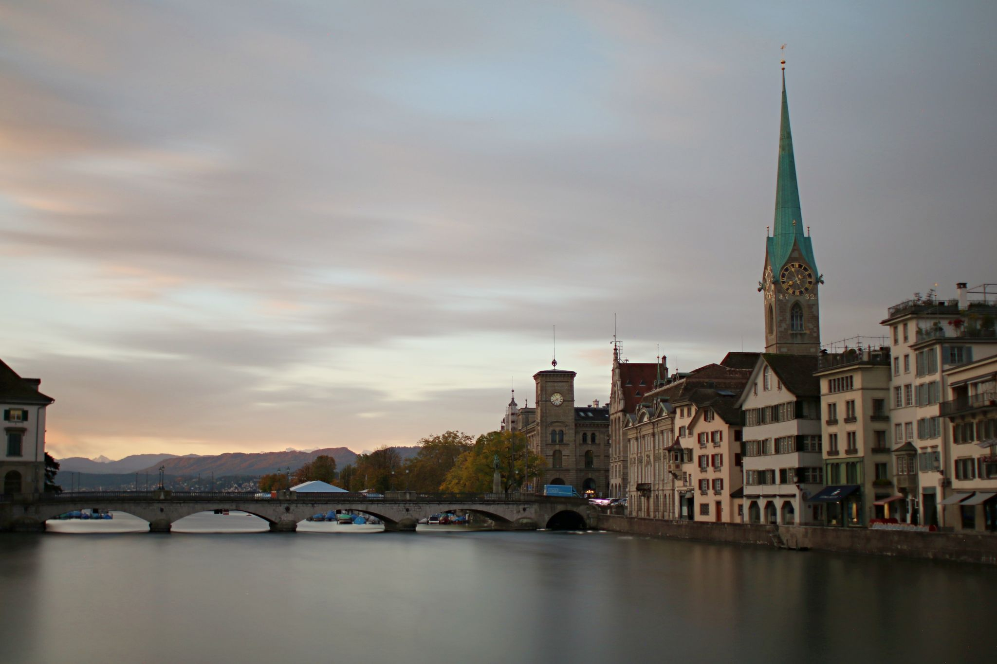From Rathaus Bridge, Switzerland