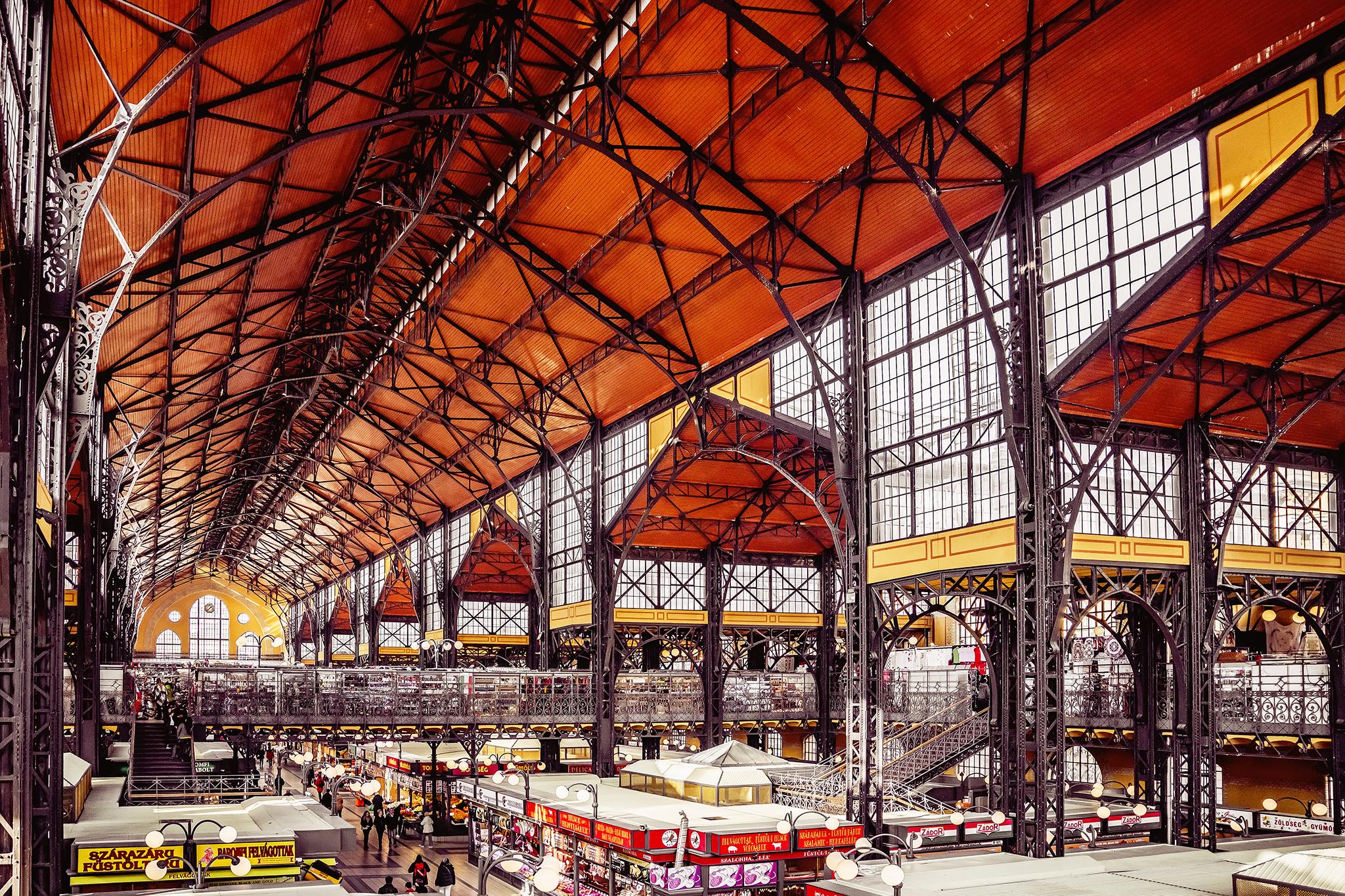 Great Market Hall, Hungary