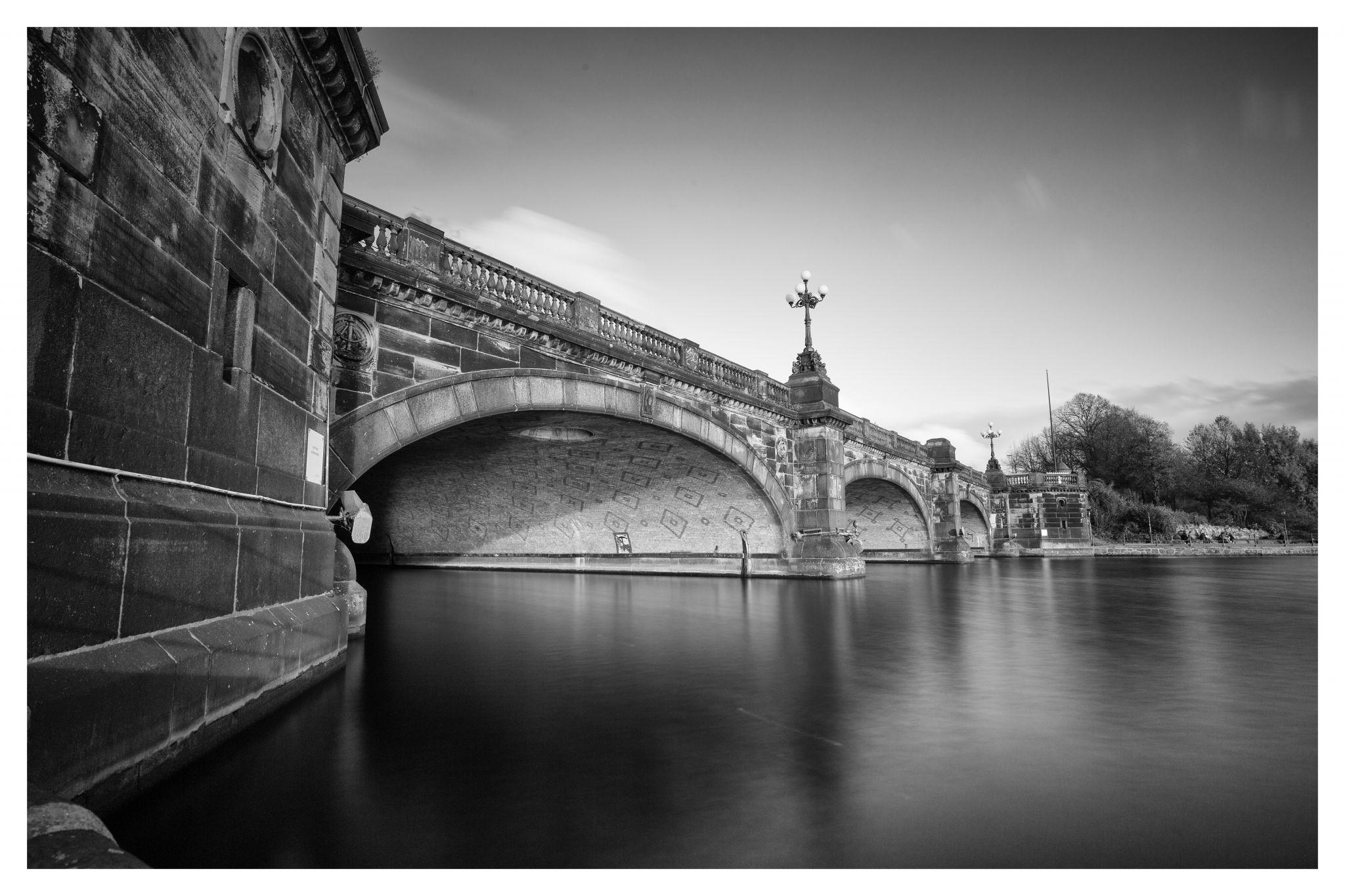 Hamburg Lombardsbrücke, Germany