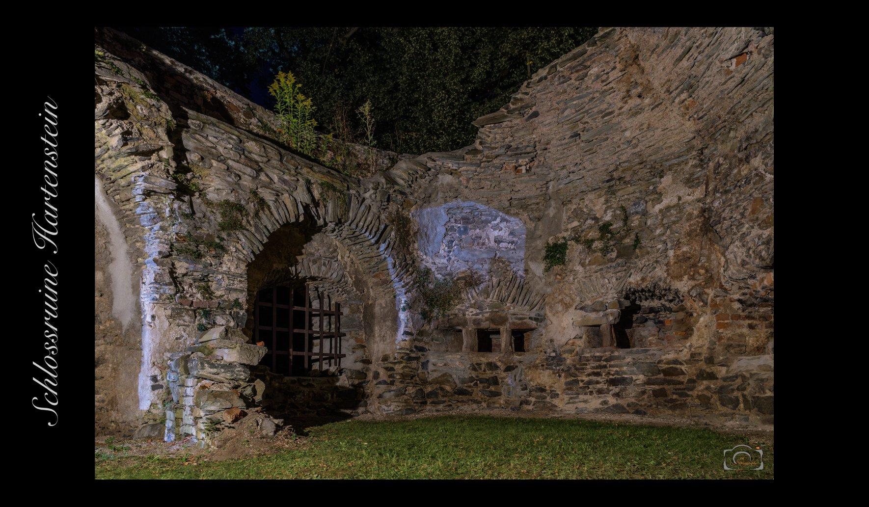 Hartenstein castle ruins, Germany