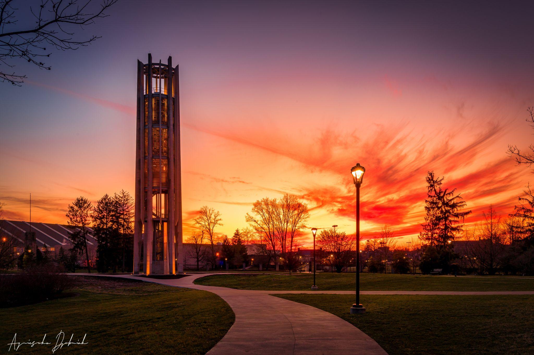 IU Bicentennial Metz Carillon, Bloomington, IN, USA
