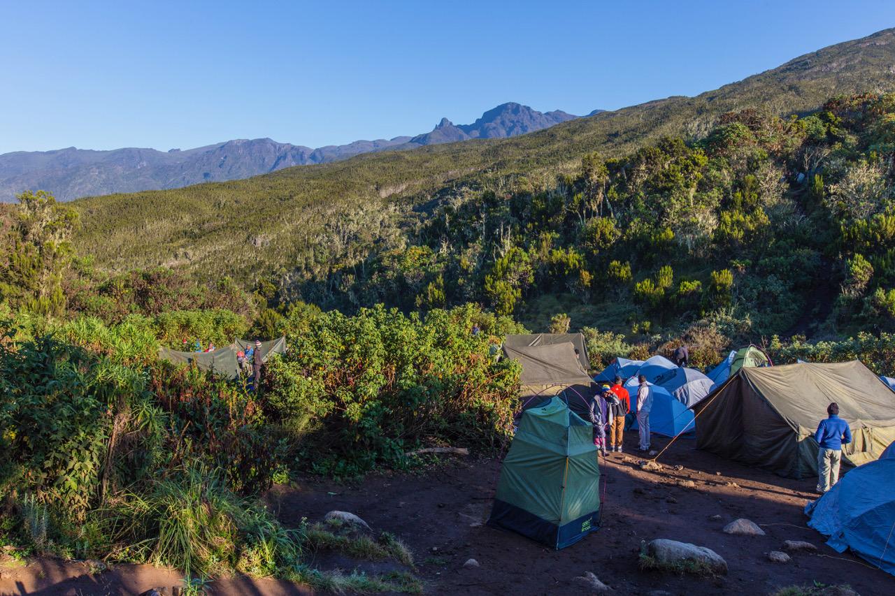 Kilimanjaro - Machame Camp, Tanzania