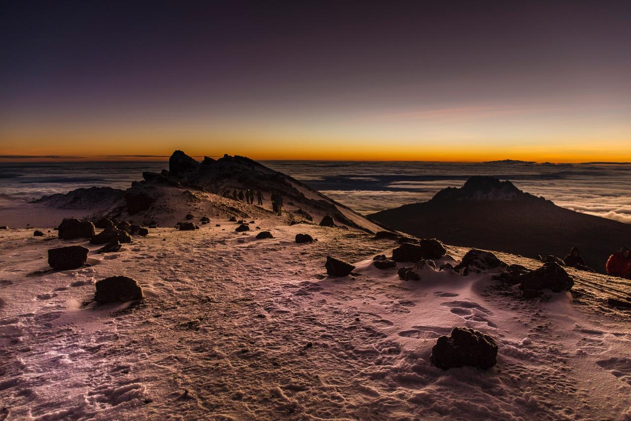 Kilimanjaro Stella Point/Crater Rim, Tanzania
