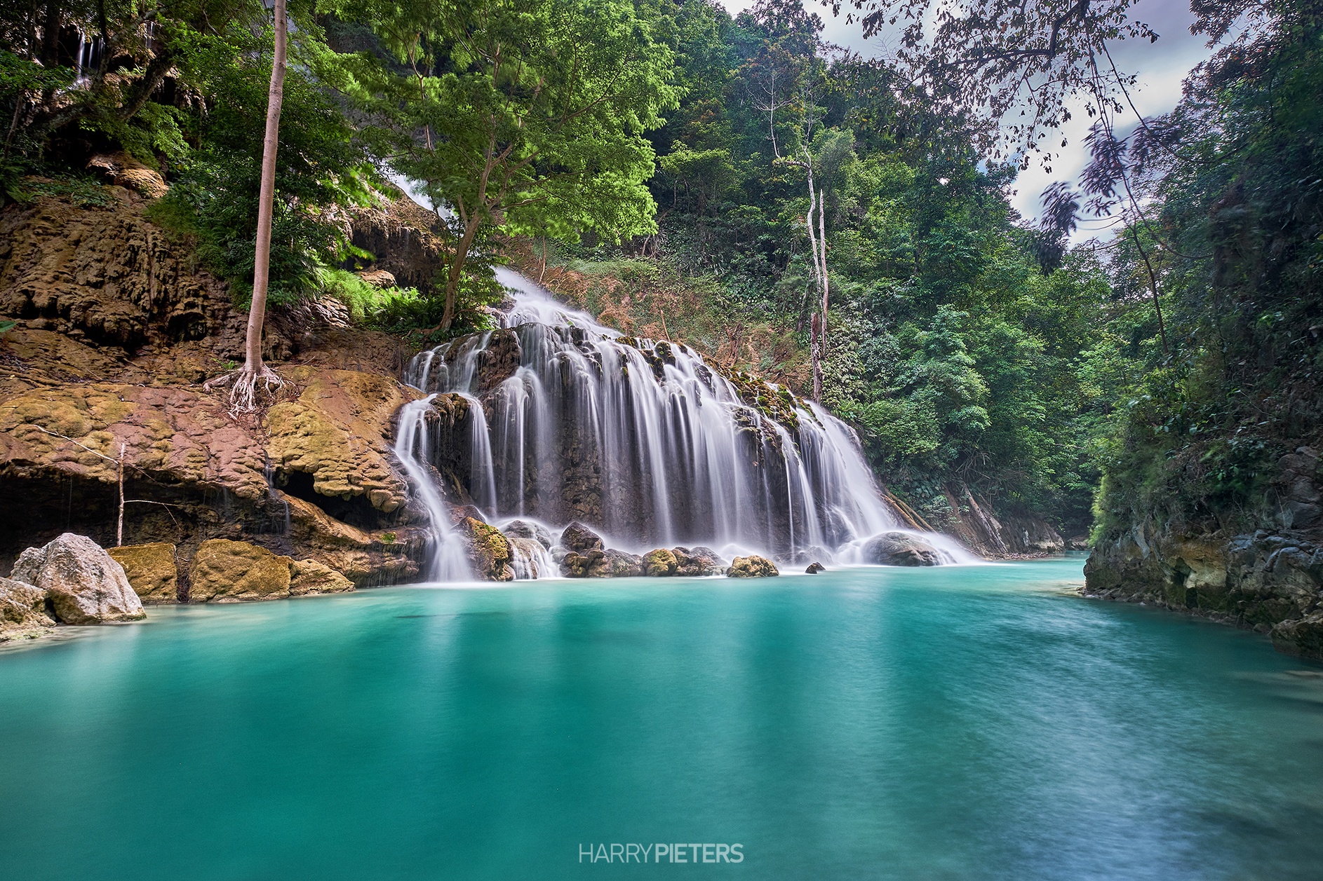 Lapopu Waterfall, Indonesia