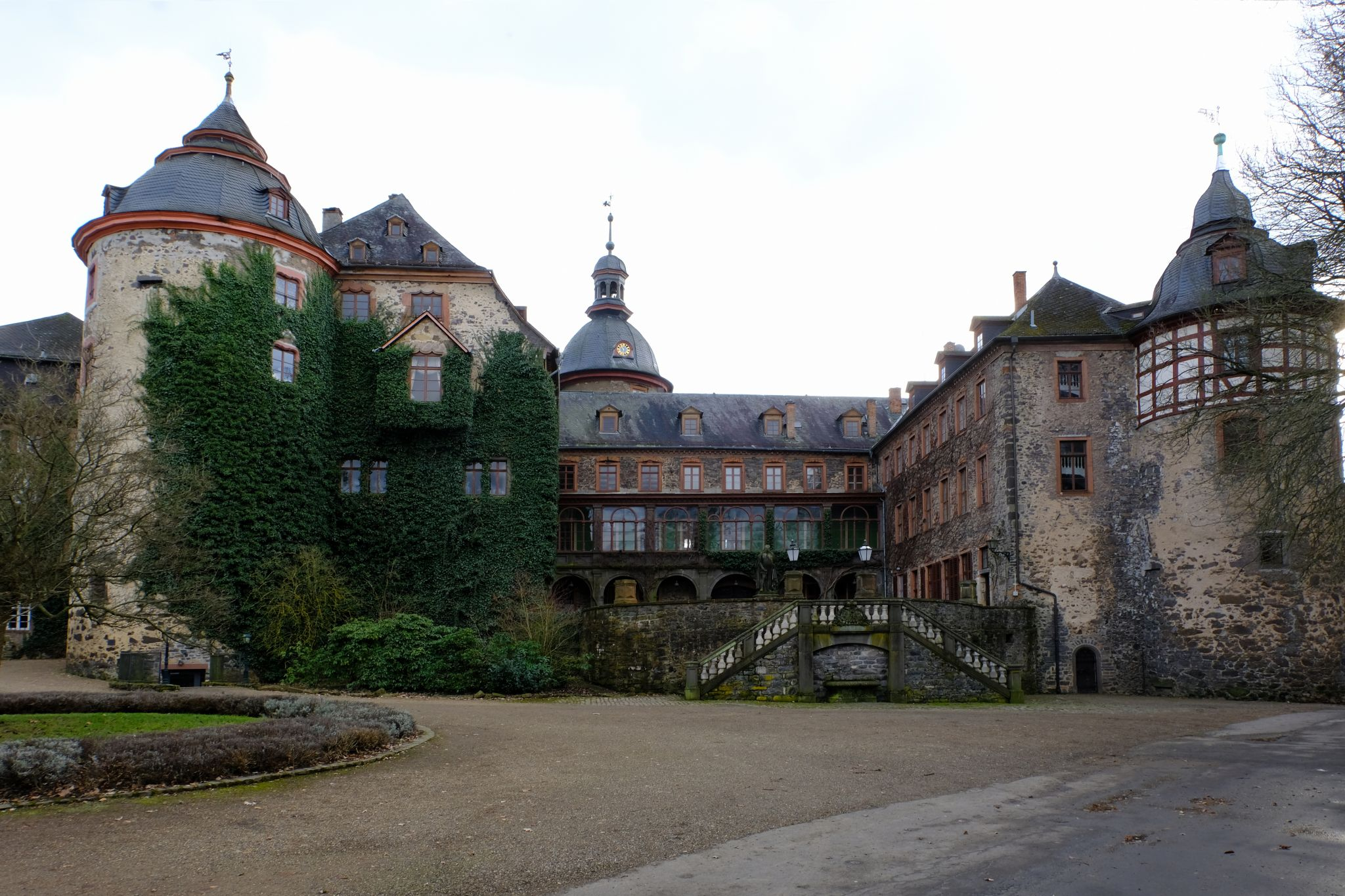 Laubach - Castle and City, Germany