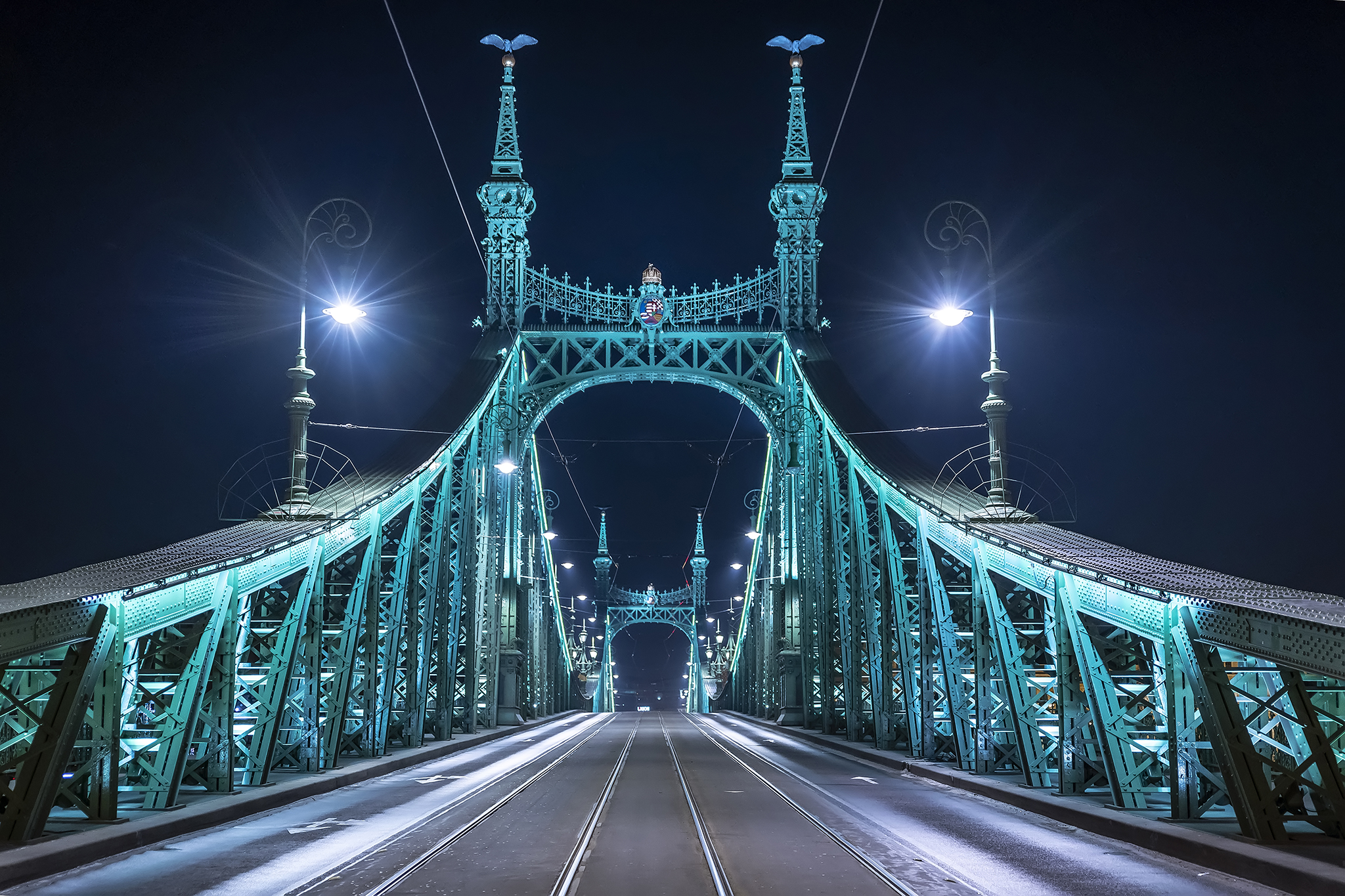 Liberty Bridge, Hungary